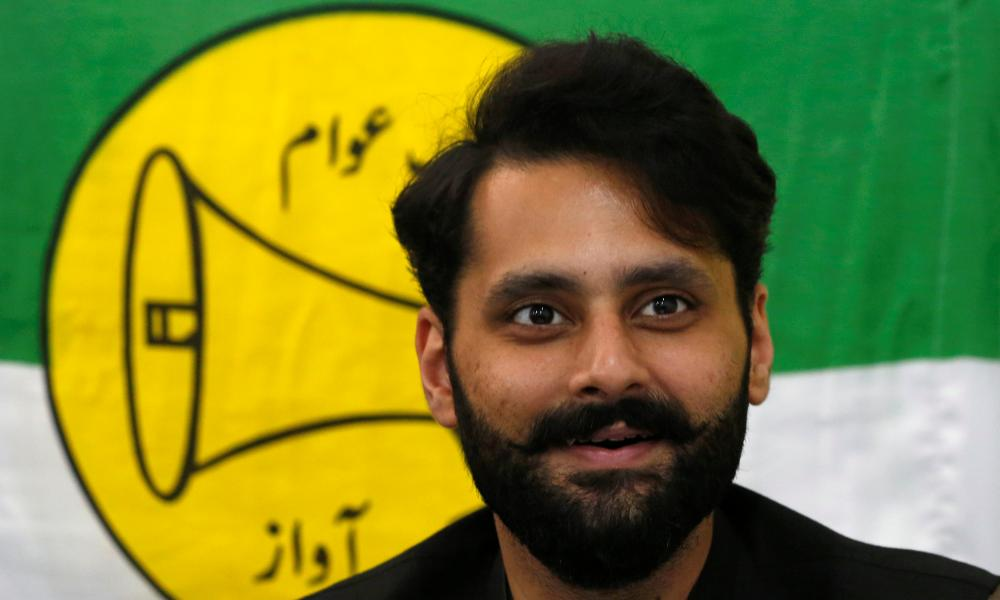 Jibran Nasir, human rights lawyer and independent candidate