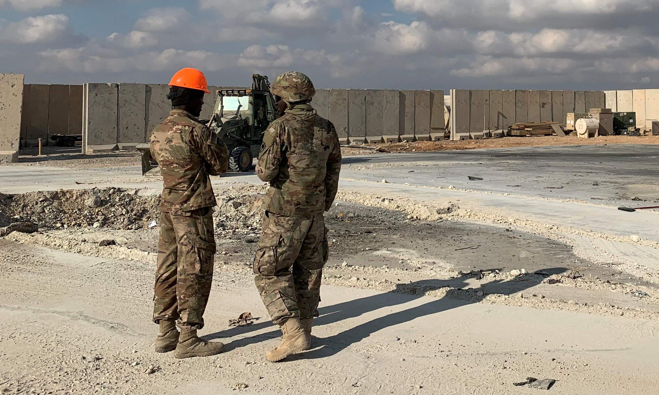 Baghdad explosions: rockets strike near US embassy in Iraq