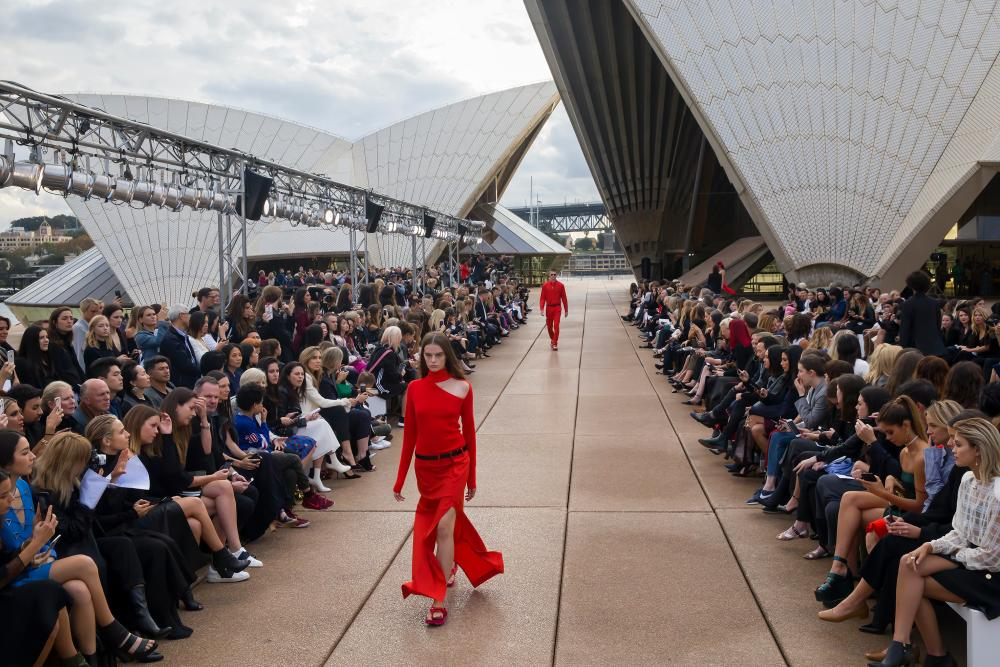 Dion Lee's show at the Sydney Opera House.