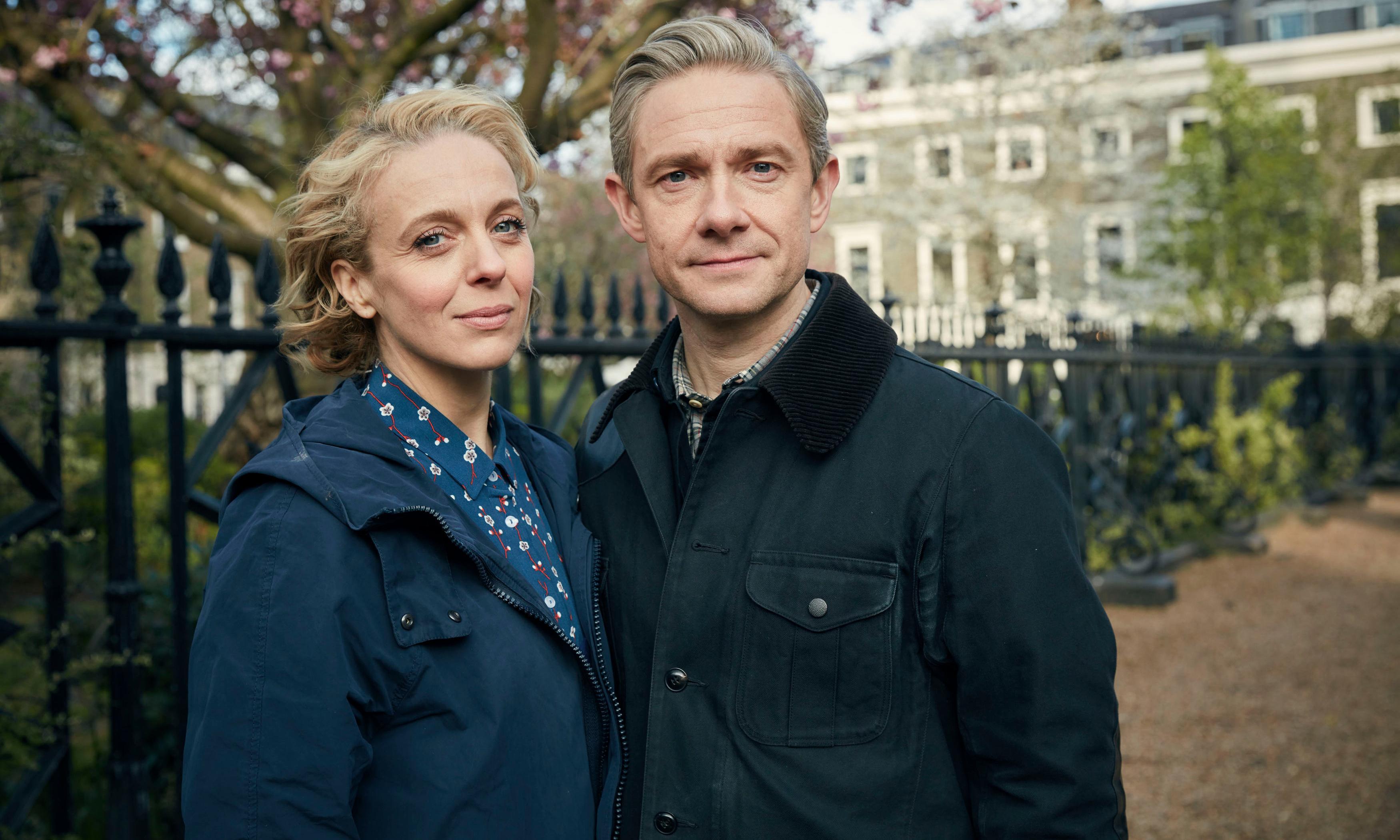 Martin Freeman tells Desert Island Discs: 'Sherlock was no fun during split with Amanda'
