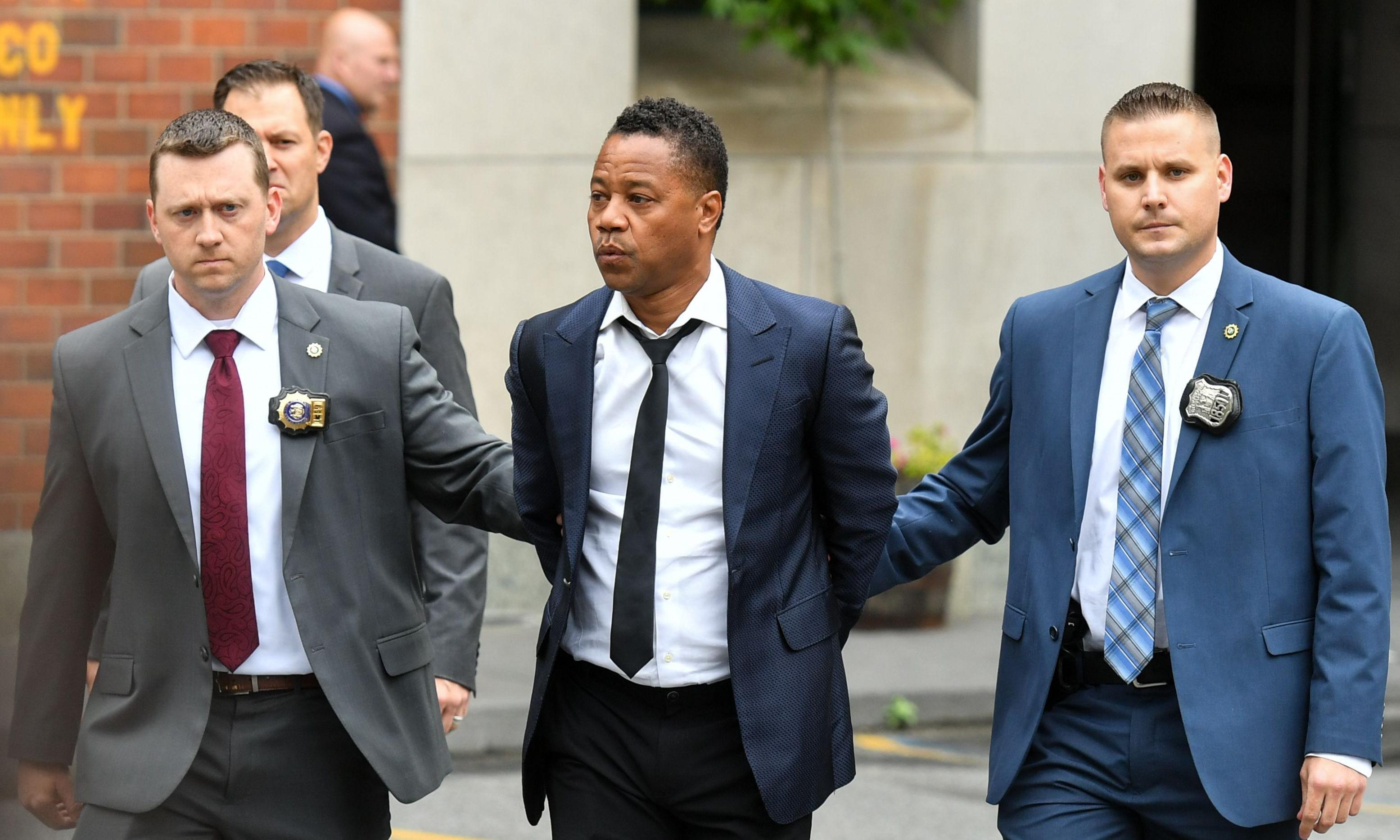 Cuba Gooding Jr charged with forcible touching after incident in New York