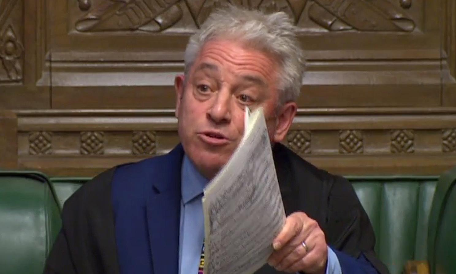 Tuesday briefing: Bercow puts a spanner in the deal