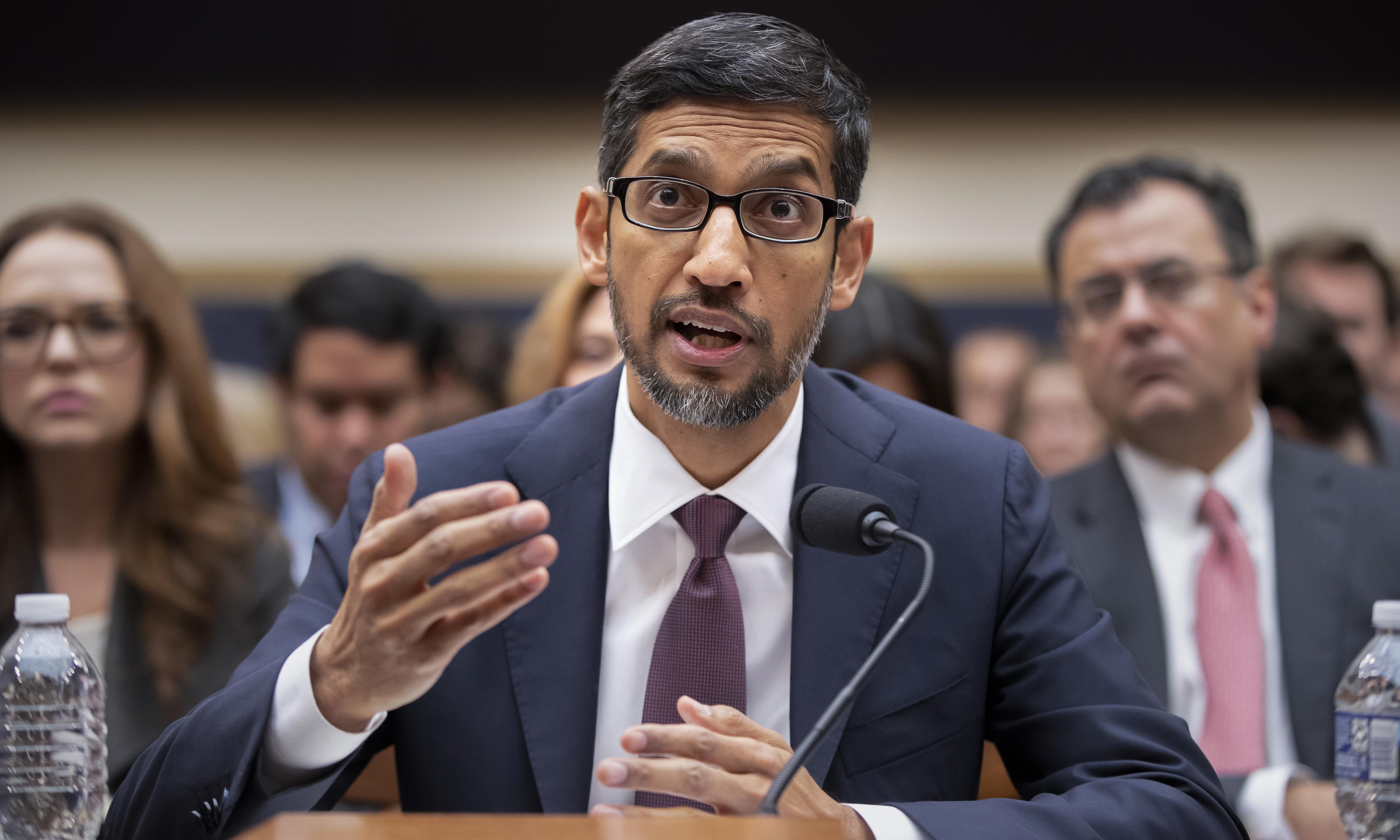 Google CEO Sundar Pichai refuses to rule out censored Chinese search engine