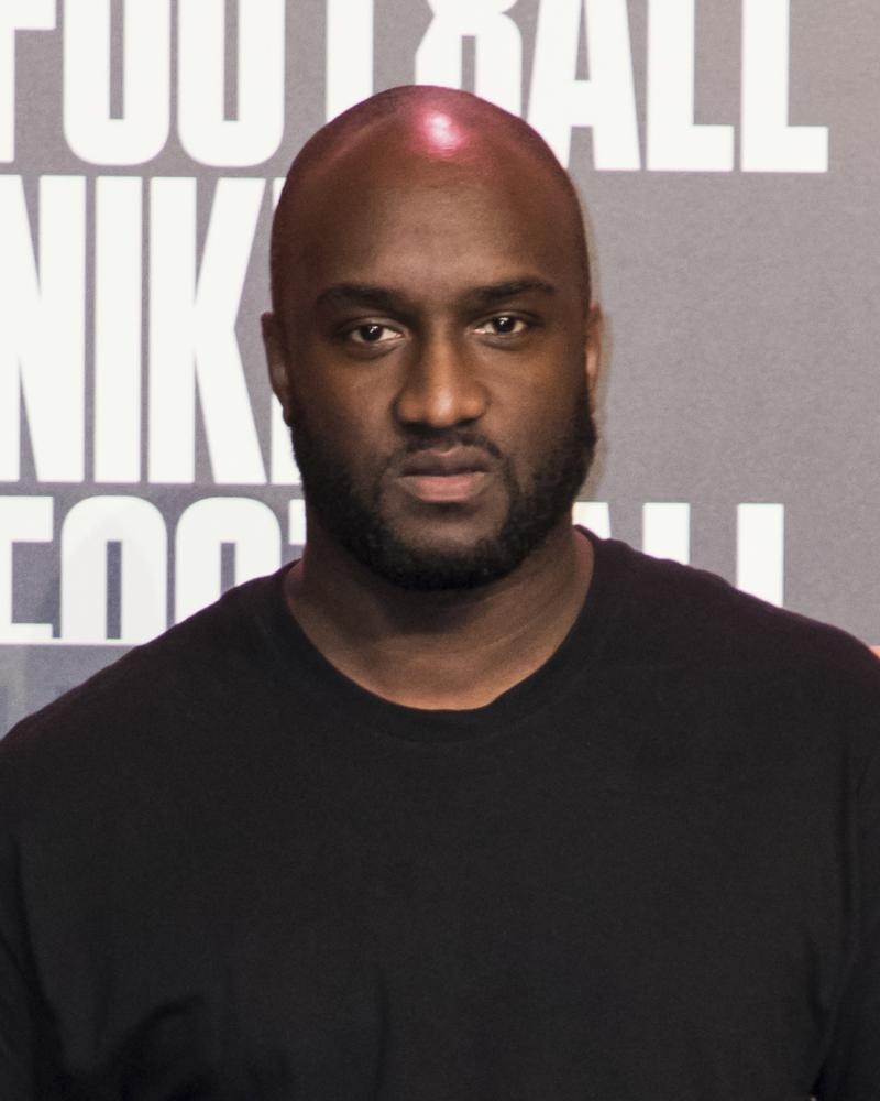 Virgil Abloh in London.