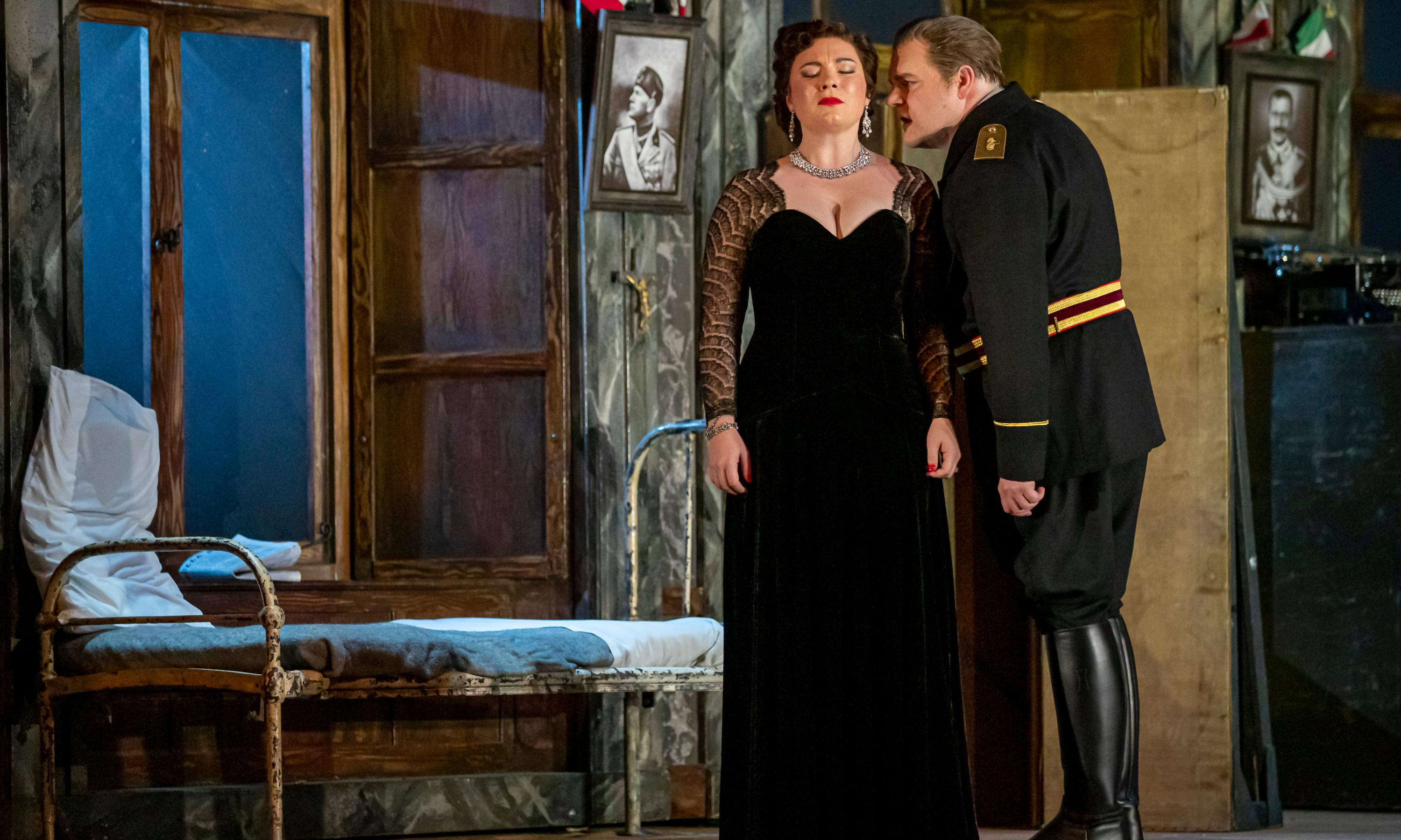 Tosca review – Scottish Opera's opulent staging still has plenty to say