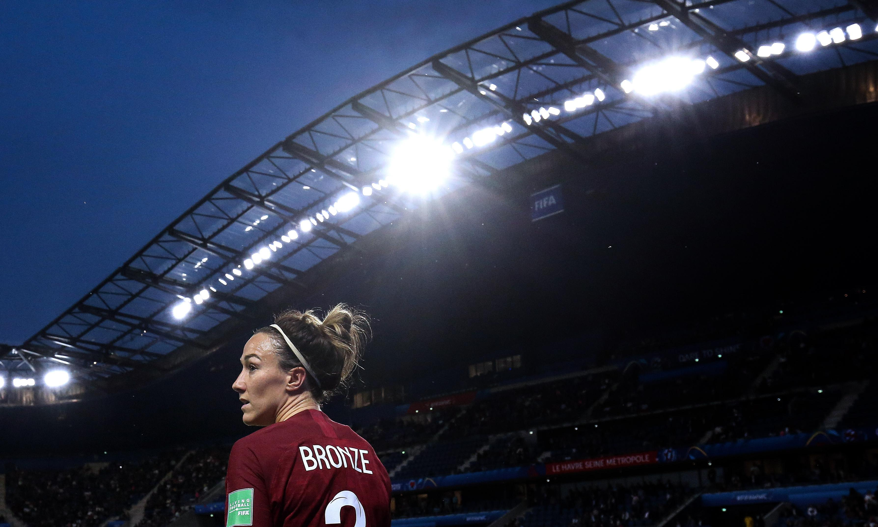 Lucy Bronze: humble, relentless and now the best player in Europe