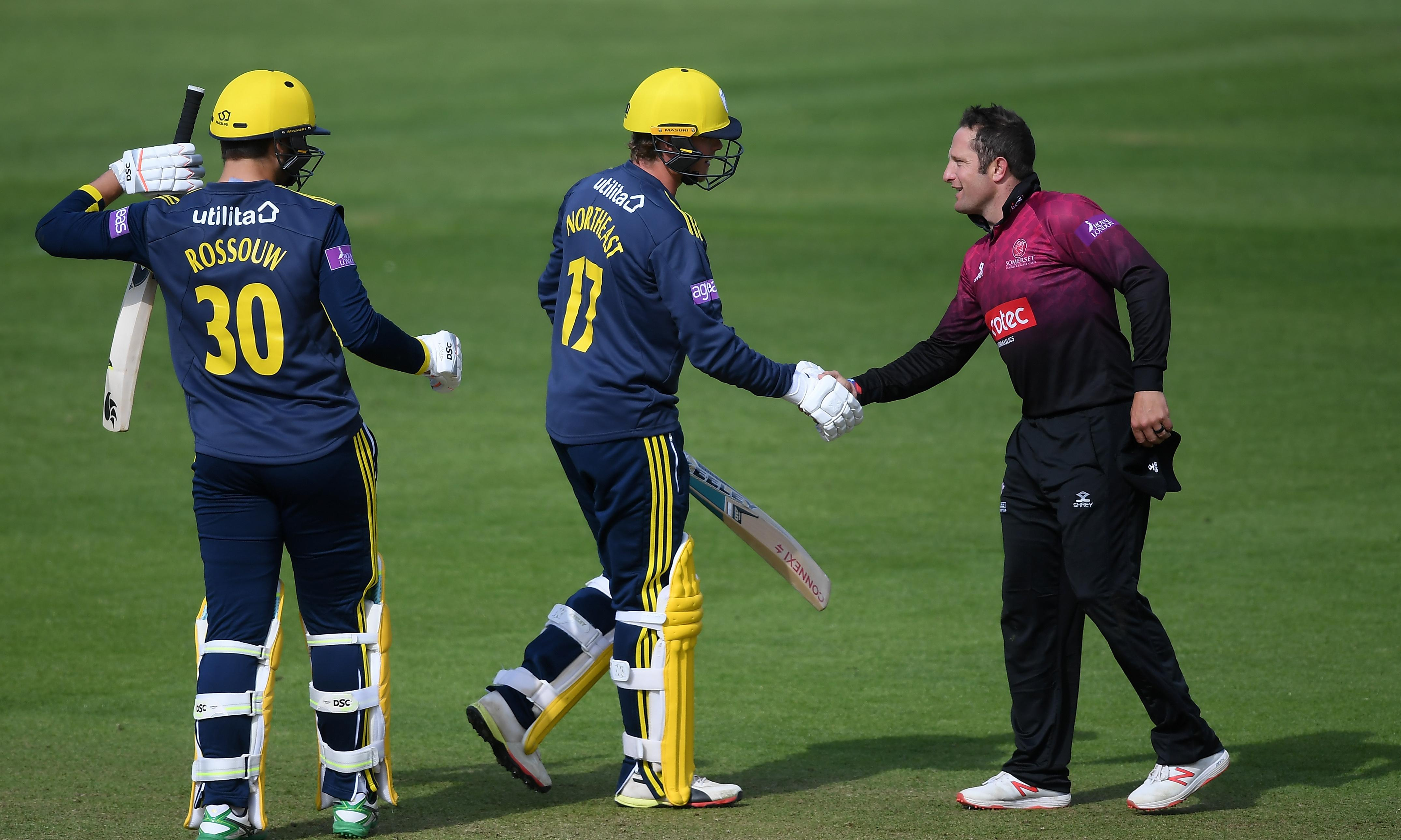 Hampshire and Somerset play their part in history with Lord's cup final