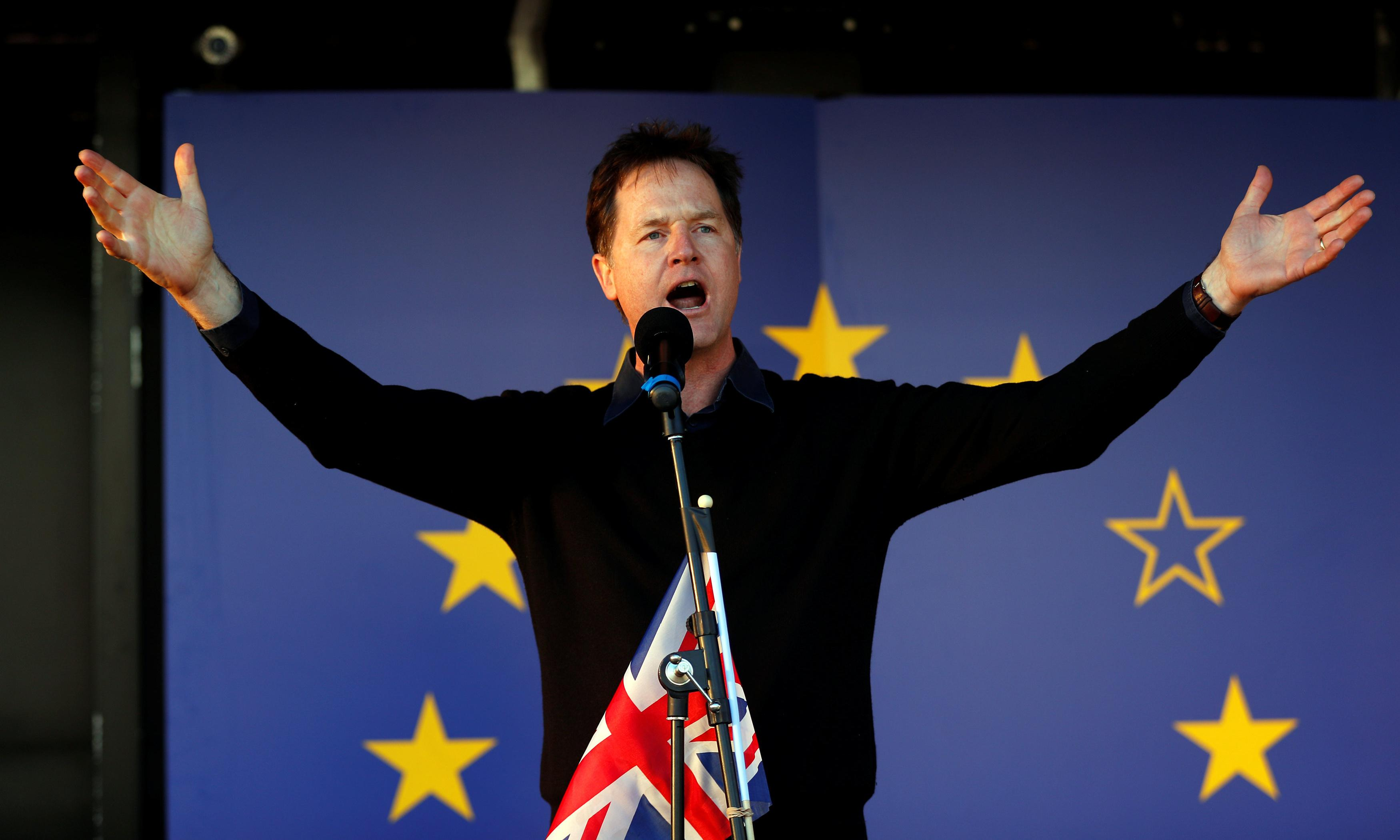Nick Clegg's second act is a tragic loss of face
