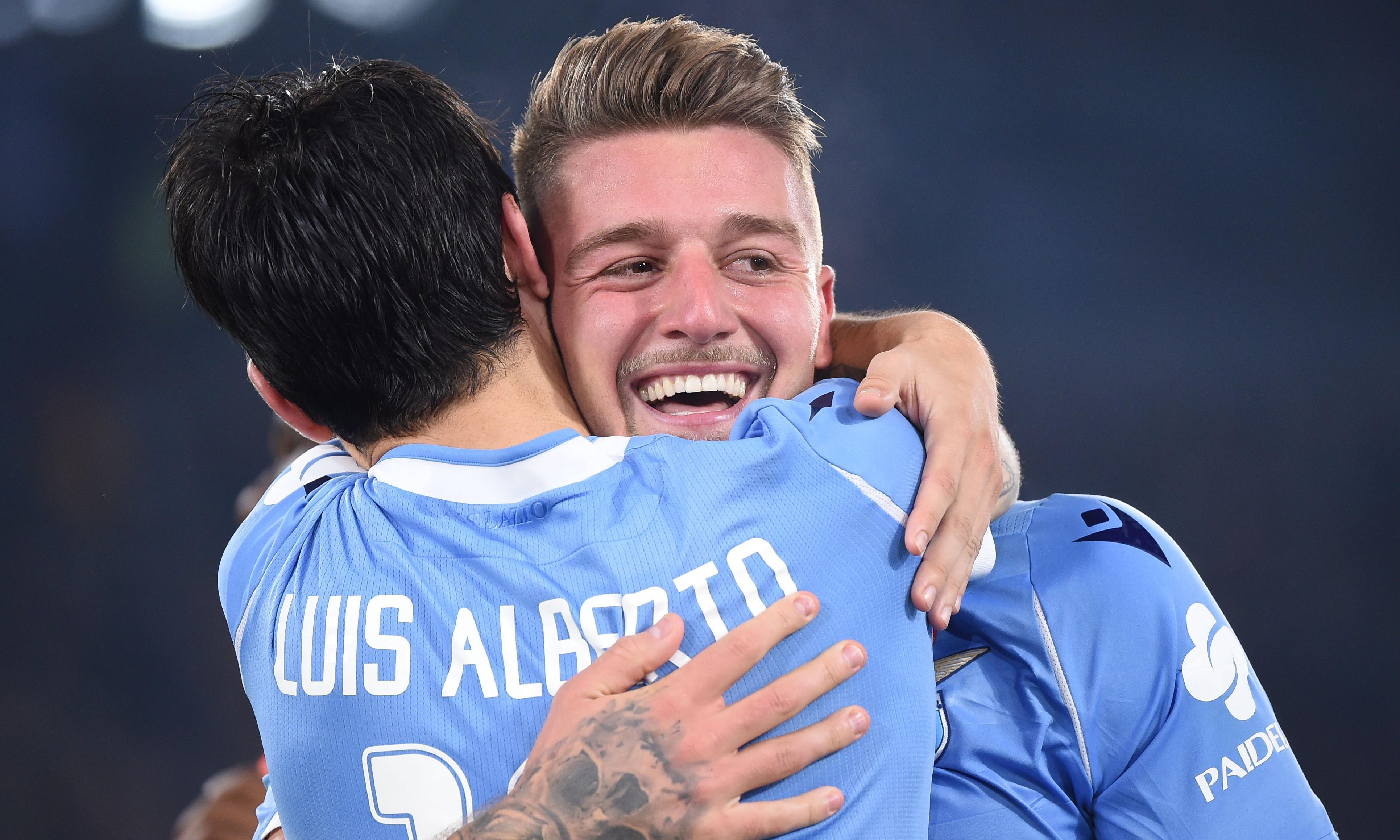 Sergej Milinkovic-Savic and Luis Alberto are leading Lazio's surge