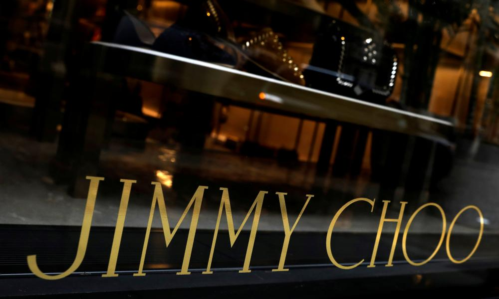 Jimmy Choo store in New York.