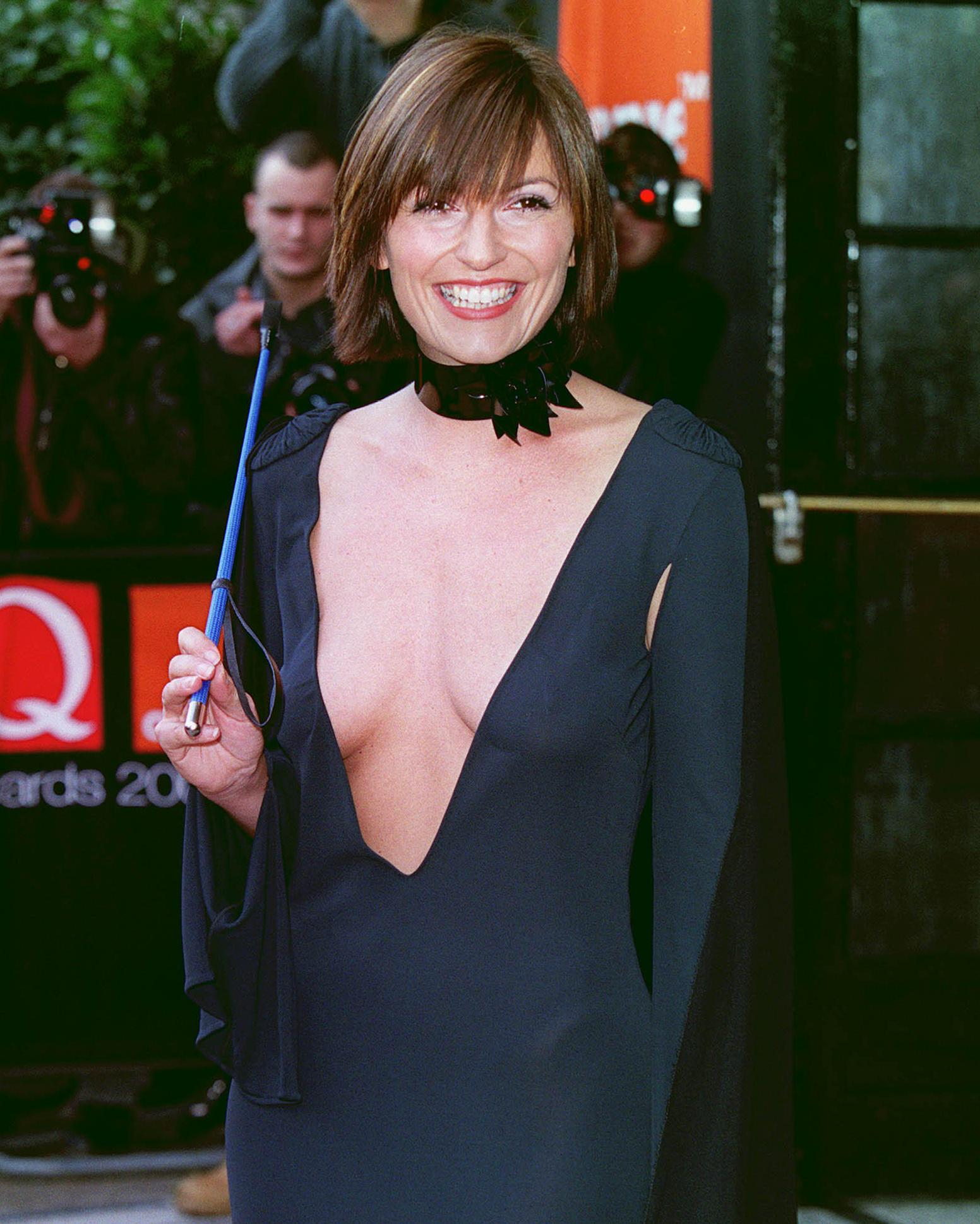 Davina McCall: 'I wore this with vast amounts of tit tape and a riding crop'