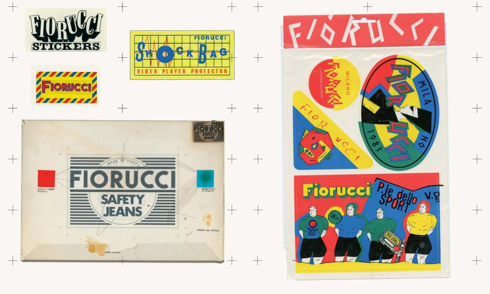 Elio Fiorucci created more than 100 different logos.