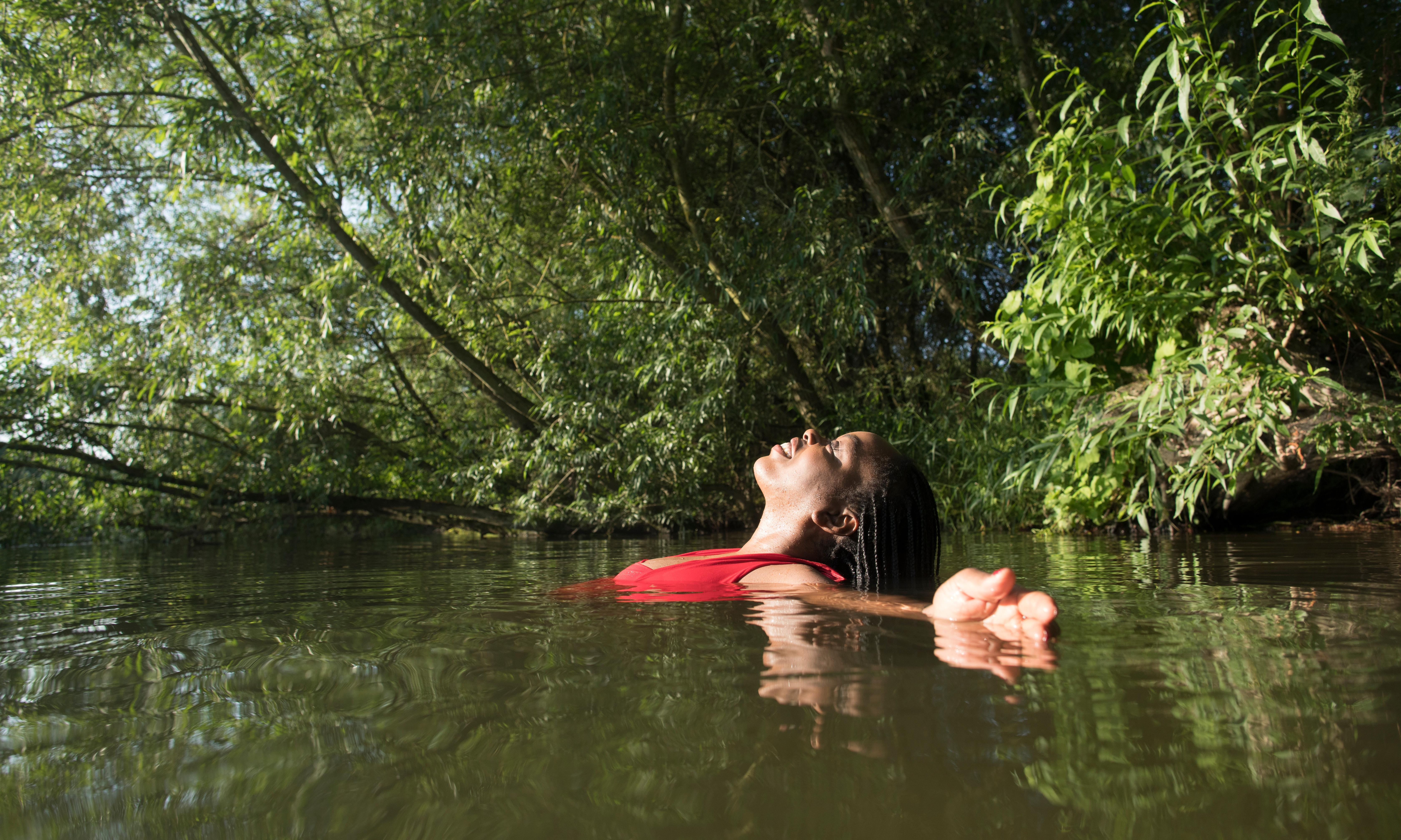 'I launch naked into the unknown': writers on the joy of wild swimming