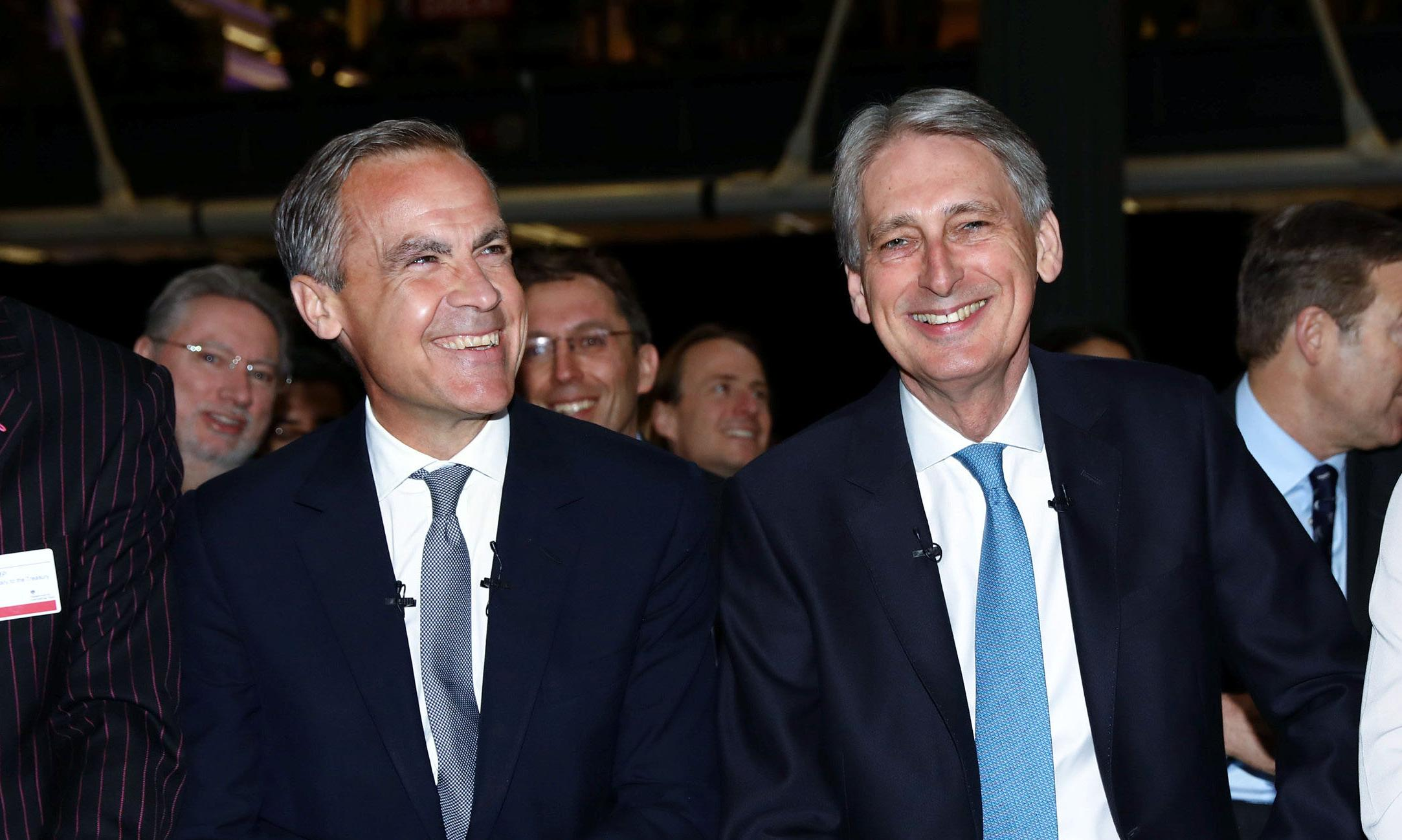 A chance at last for Hammond to hunt for a new Bank governor