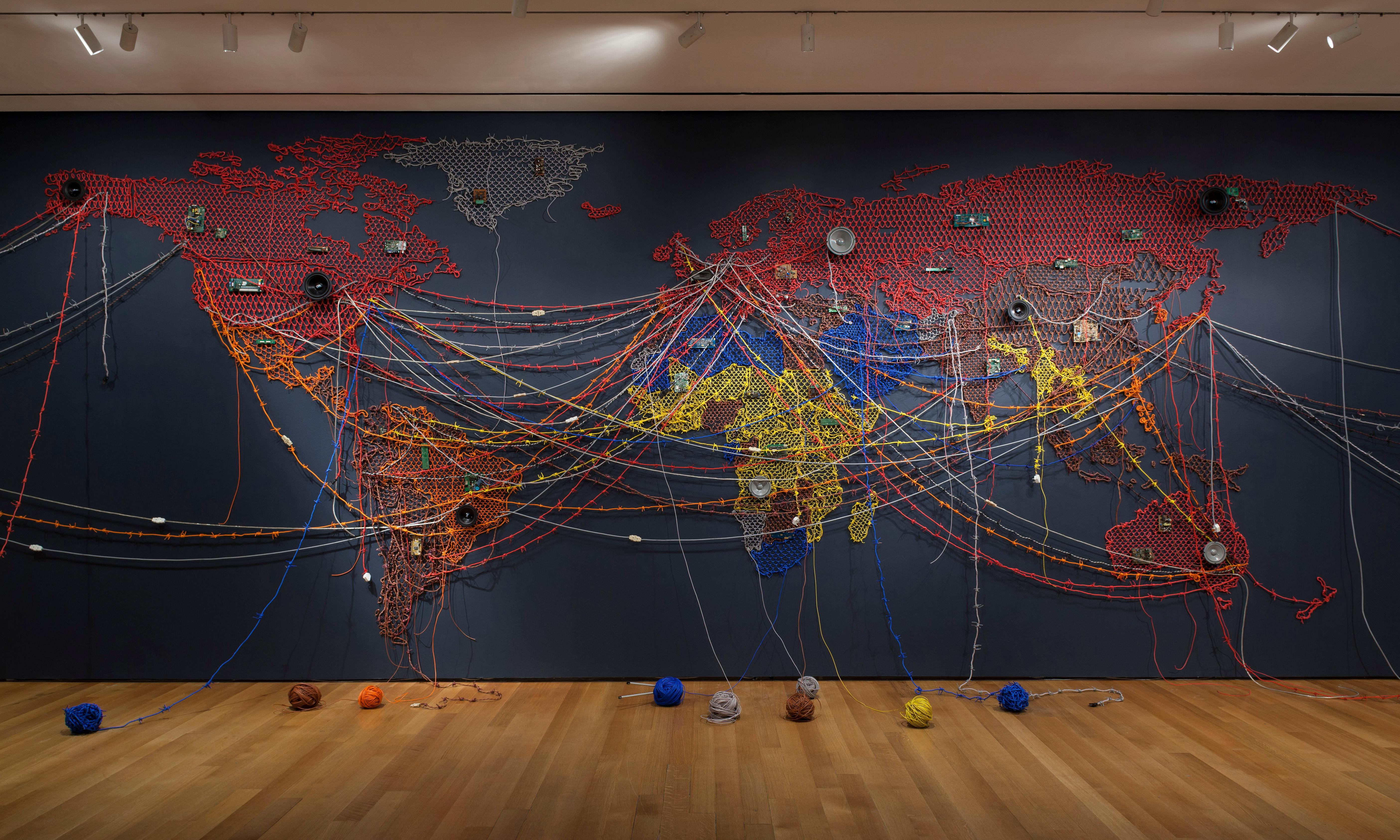 'When home won't let you stay': artwork addressing global migration