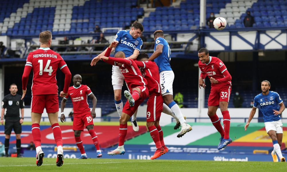 Keane leaps highest to score