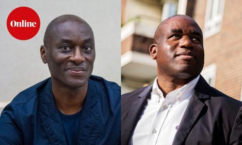 Ekow Eshun and David Lammy
