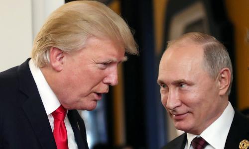 Russian President Vladimir Putin and US President Donald J. Trump