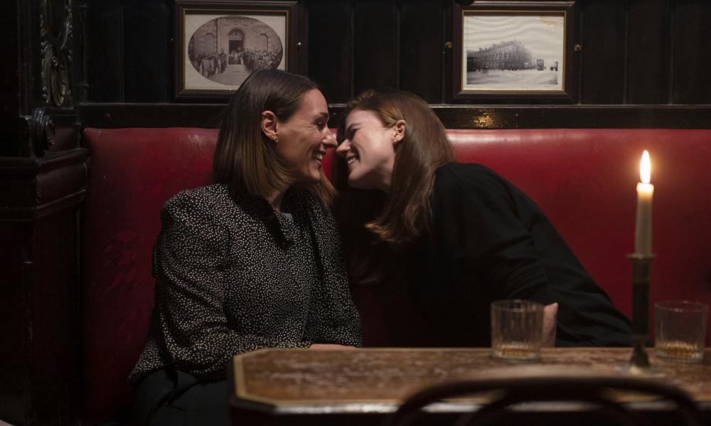One thing led to another ... Amy Silva (Suranne Jones) and Kirsten Longacre (Rose Leslie).