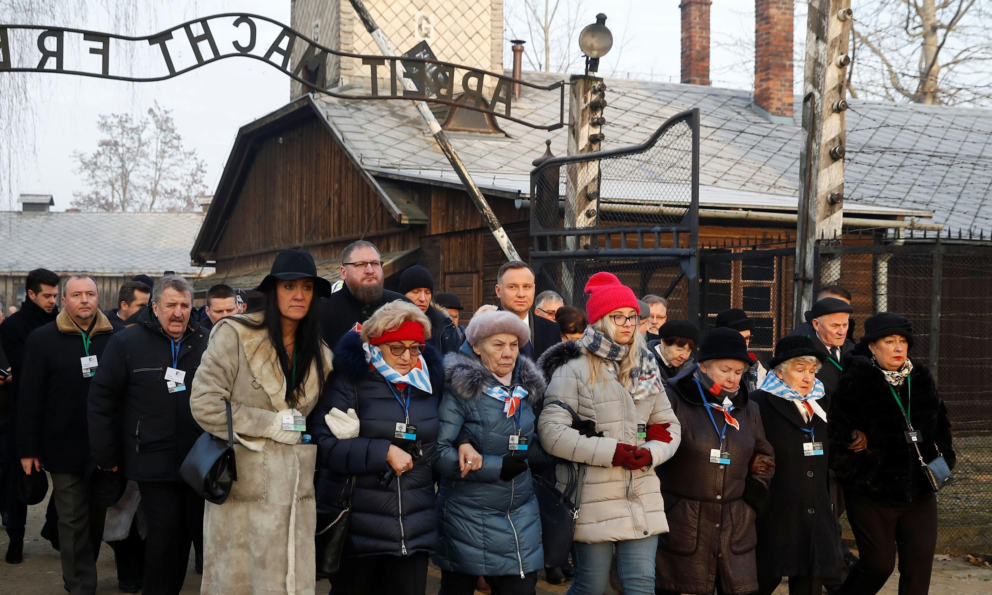 'Thou shalt not be indifferent': from Auschwitz's gate of hell, a last, desperate warning