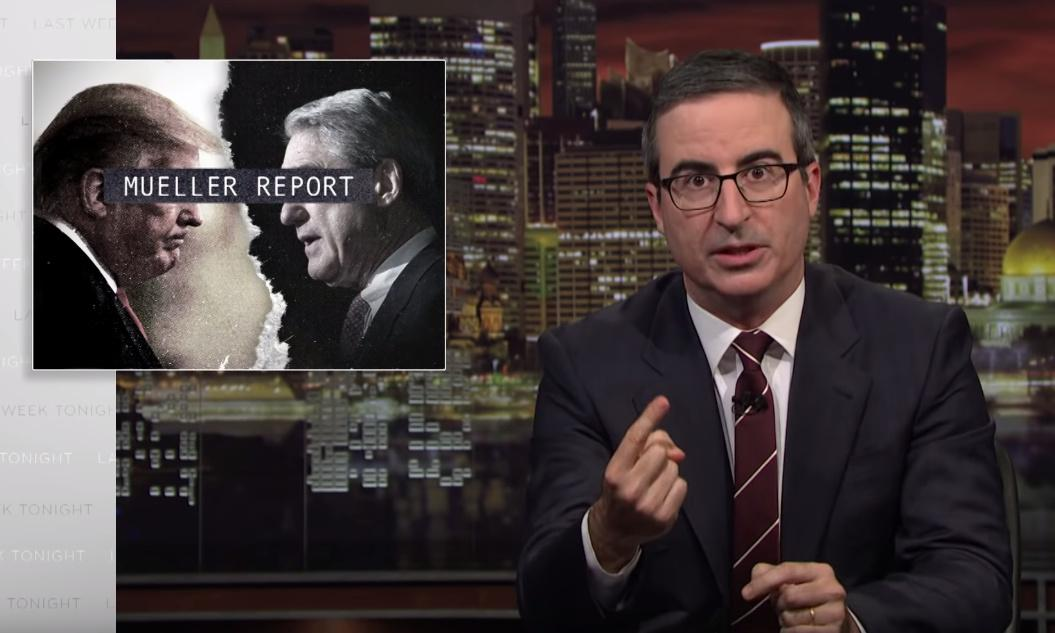 John Oliver: Mueller report reveals 'cartoonish levels of incompetence'