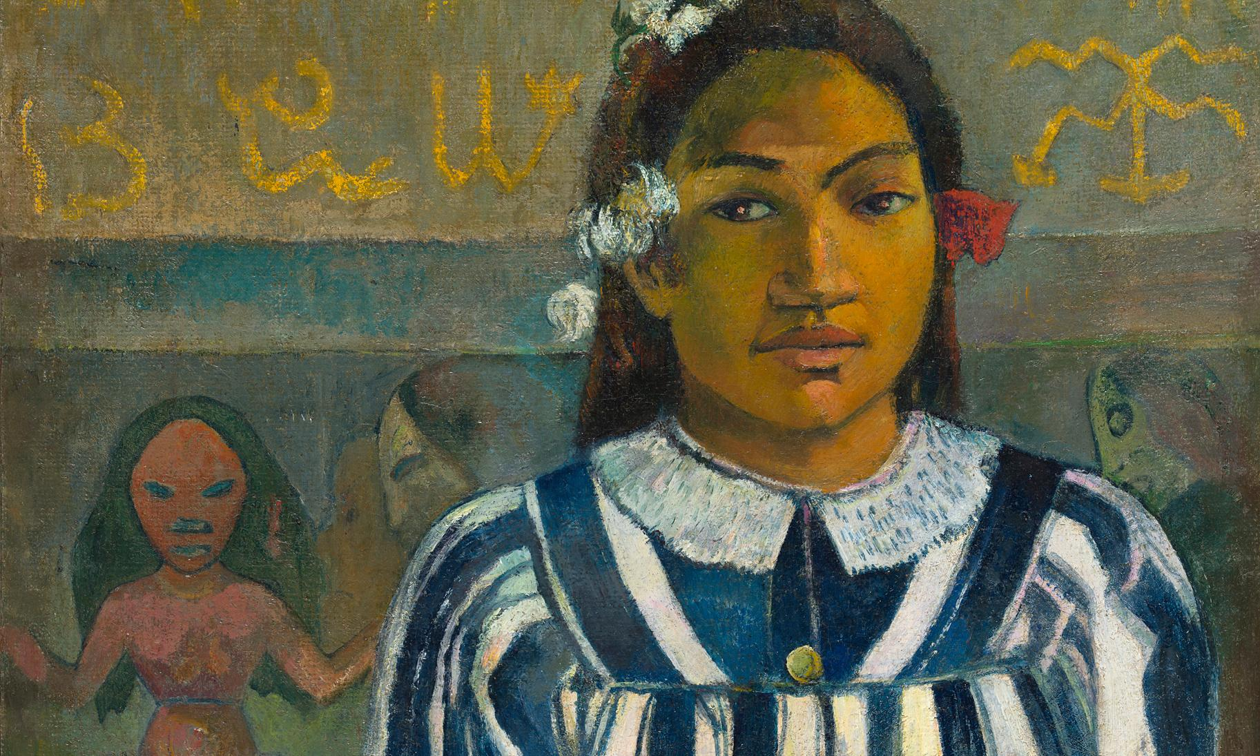 Gauguin Portraits review – a buttoned-up, nervous and nude-light cop-out of a show