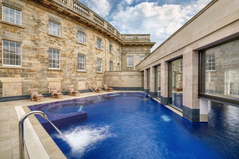 Buxton Crescent Hotel and Spa Outdoor Pool
