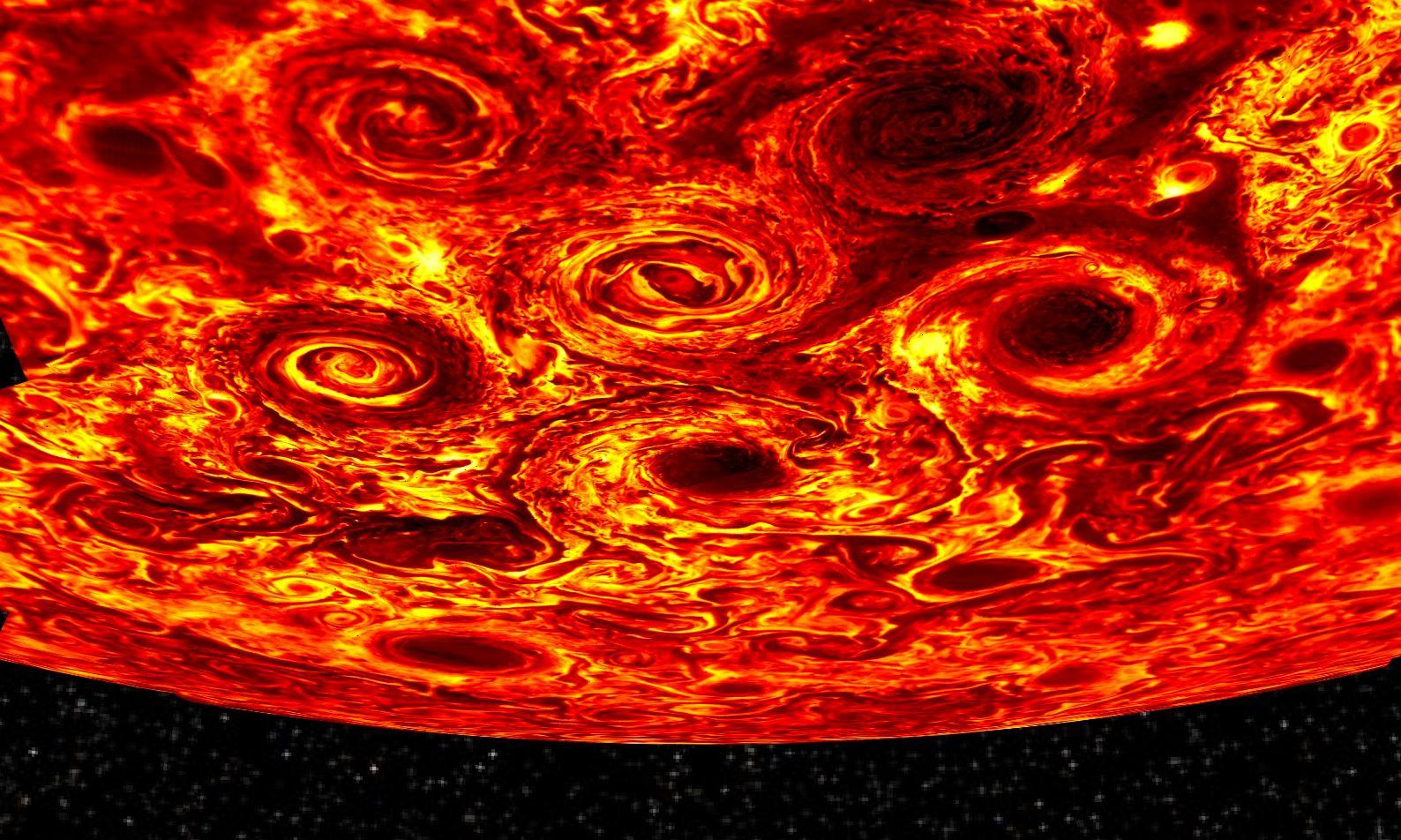 Nasa spacecraft reveals Jupiter's interior in unprecedented detail