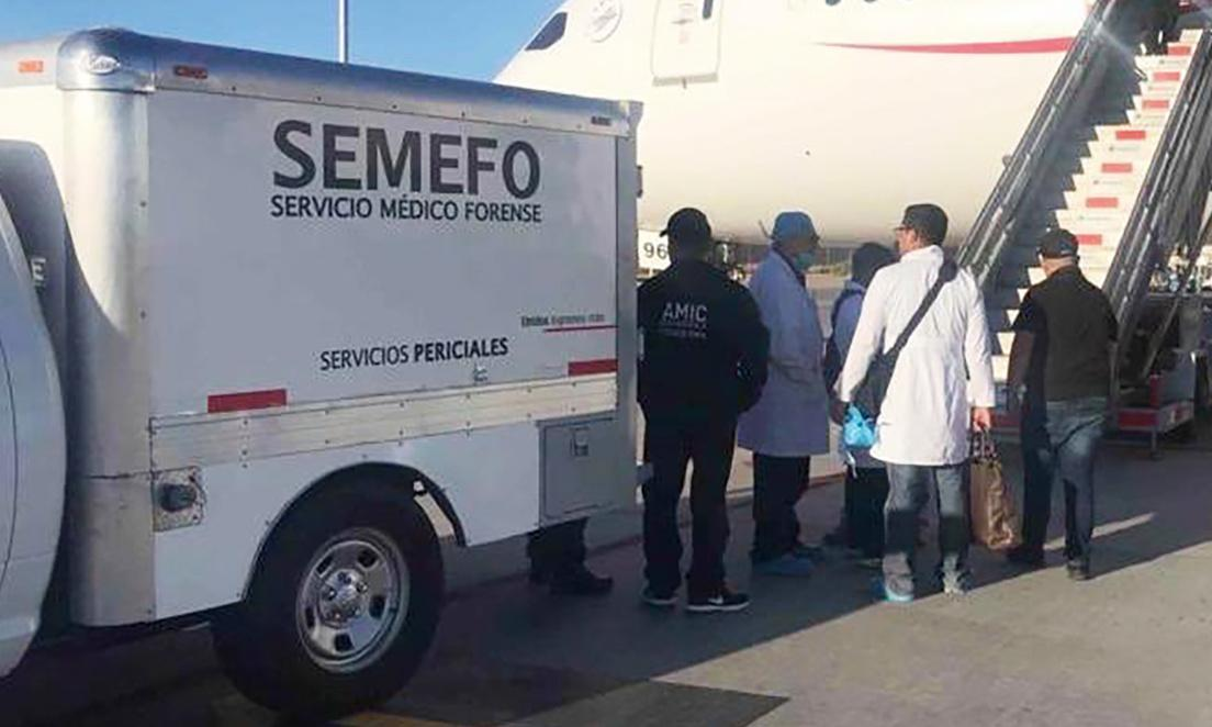 Man dies on Aeromexico flight after swallowing 246 packets of cocaine