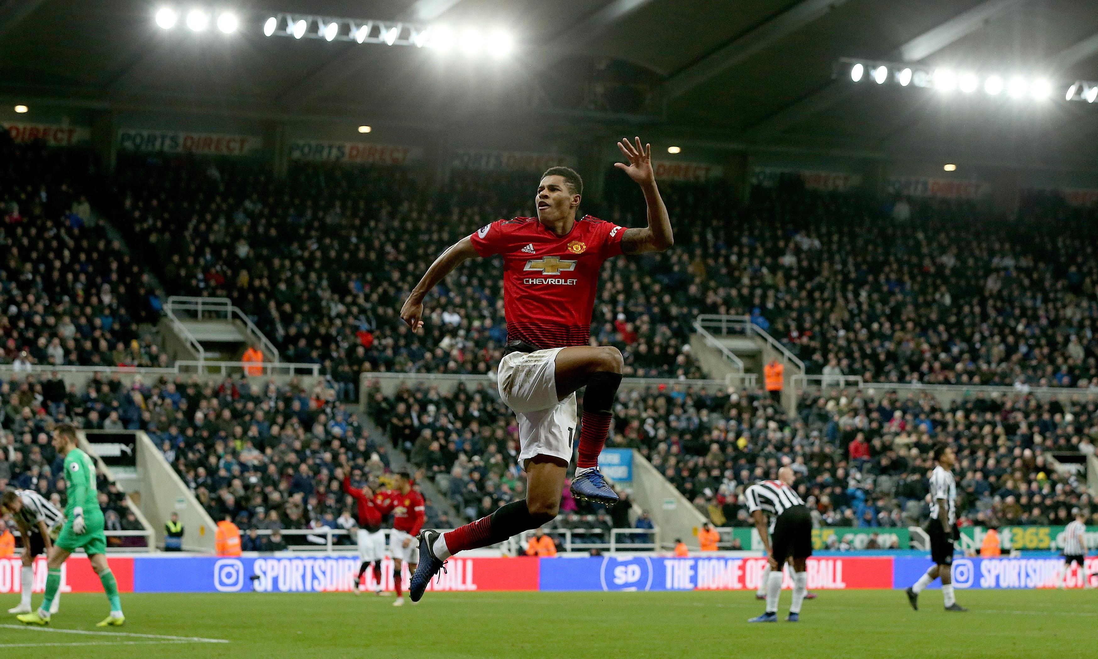 Manchester United's golden child Marcus Rashford finds his lost lustre
