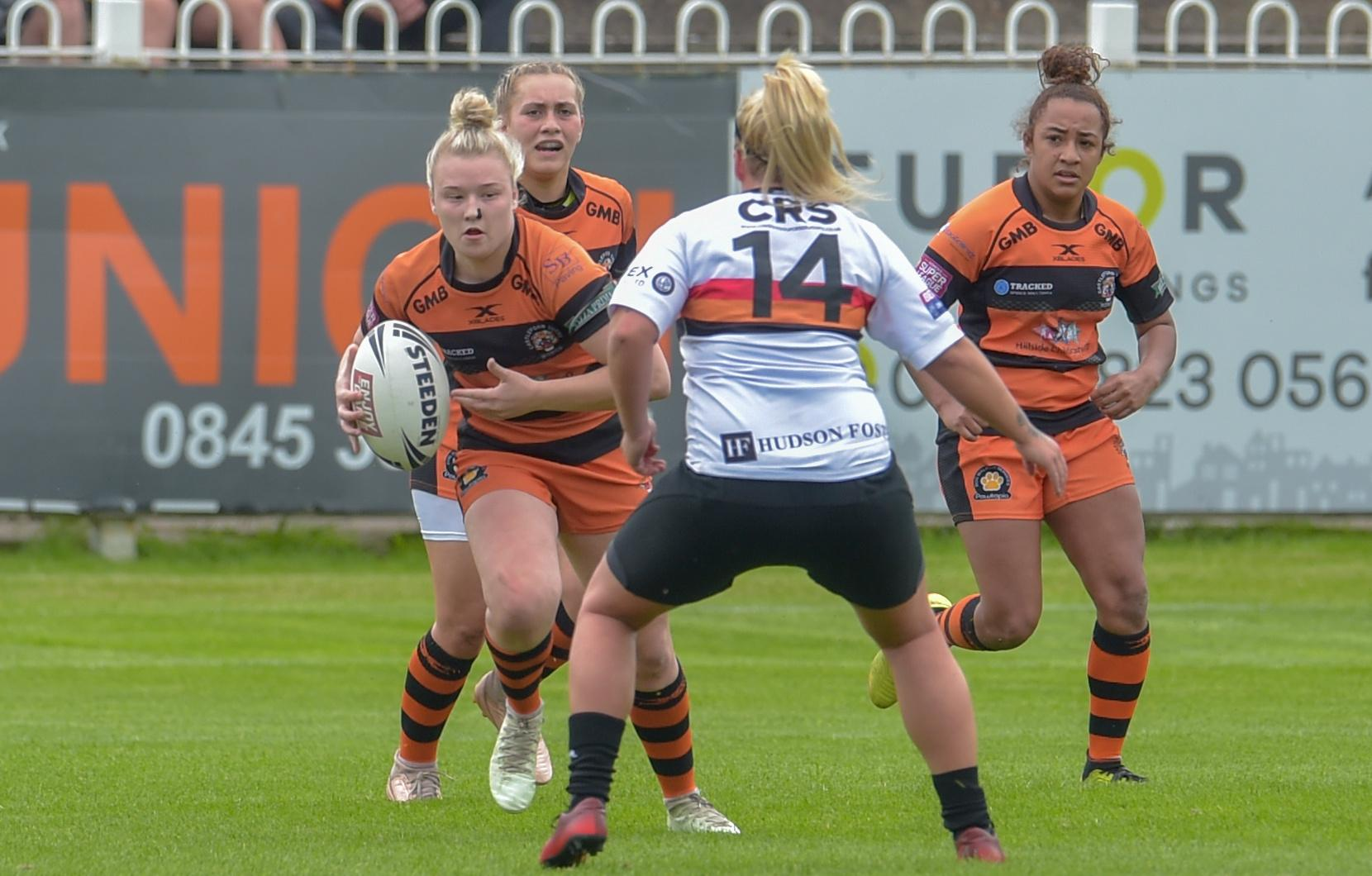 Women's rugby league takes off as Castleford attract record crowds