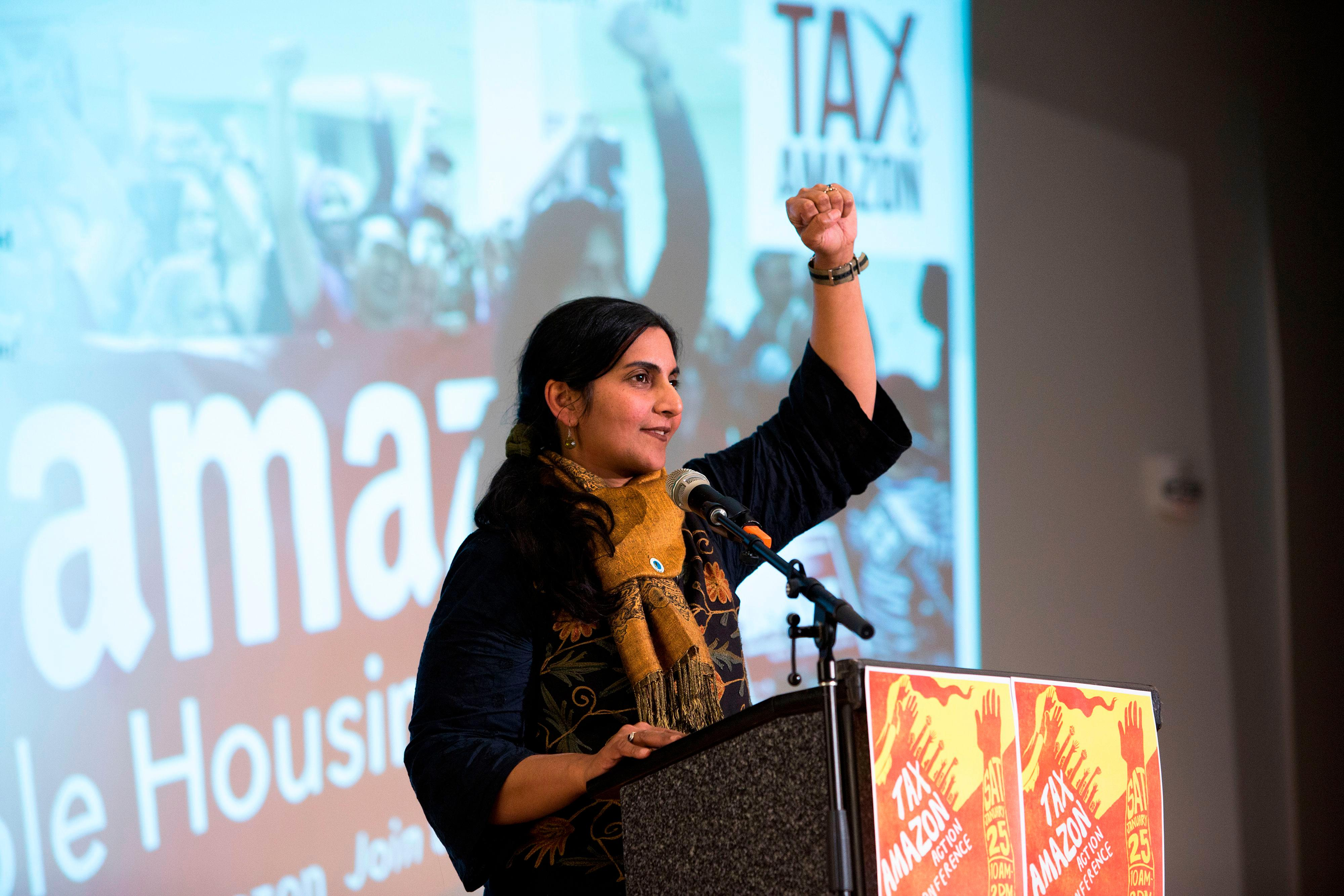 Kshama Sawant wants to tax Amazon so people can afford to live in Seattle. Can she pull it off?