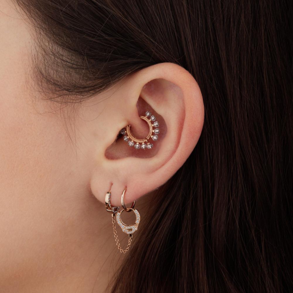Ear jewellery from Maria Tash