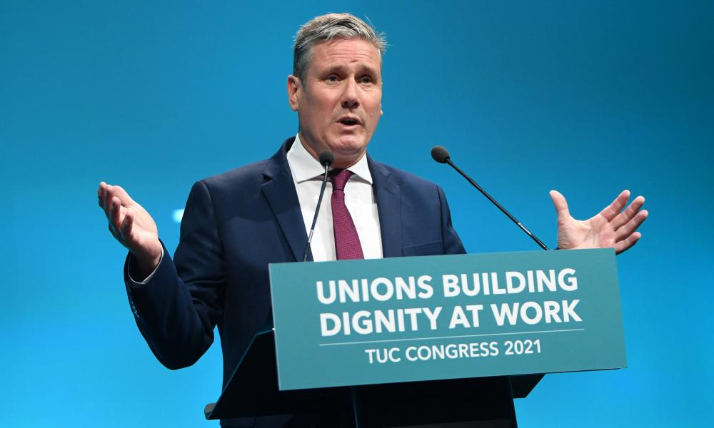Keir Starmer promised a £10 minimum wage and an end to zero-hours contracts.