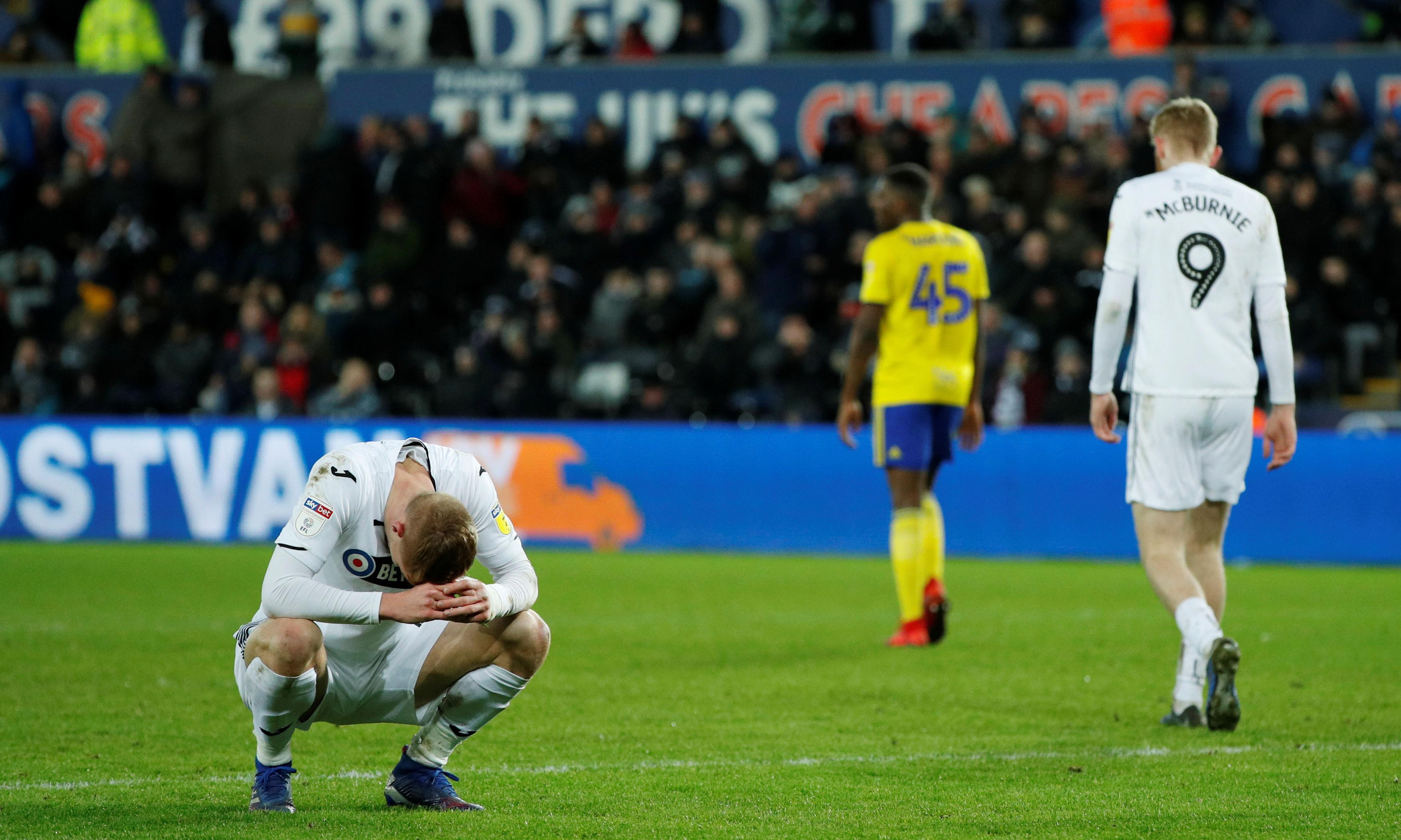 How Swansea City went from model club to desperate cautionary tale
