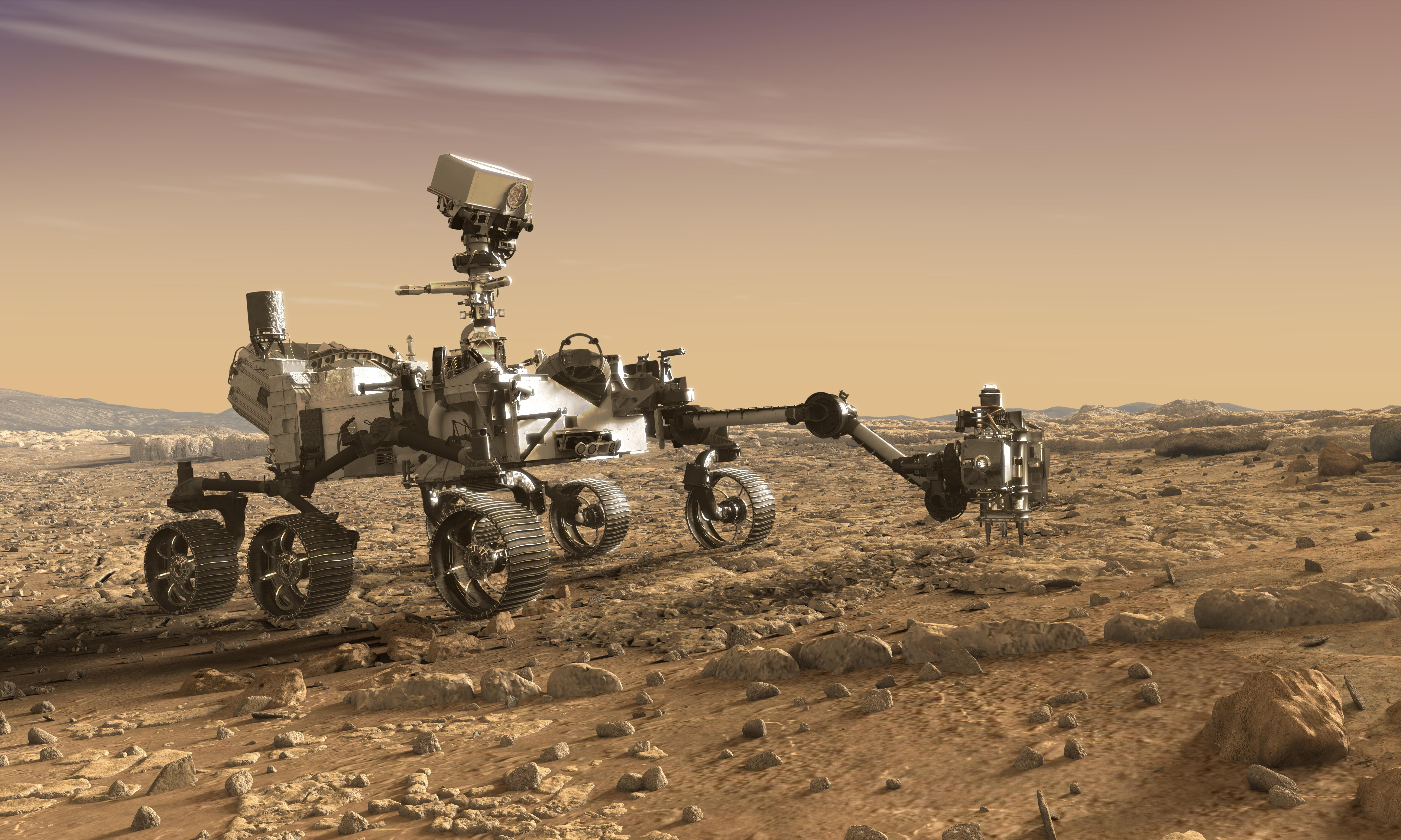 Daring Mars mission to send rocks back to Earth in hunt for past life