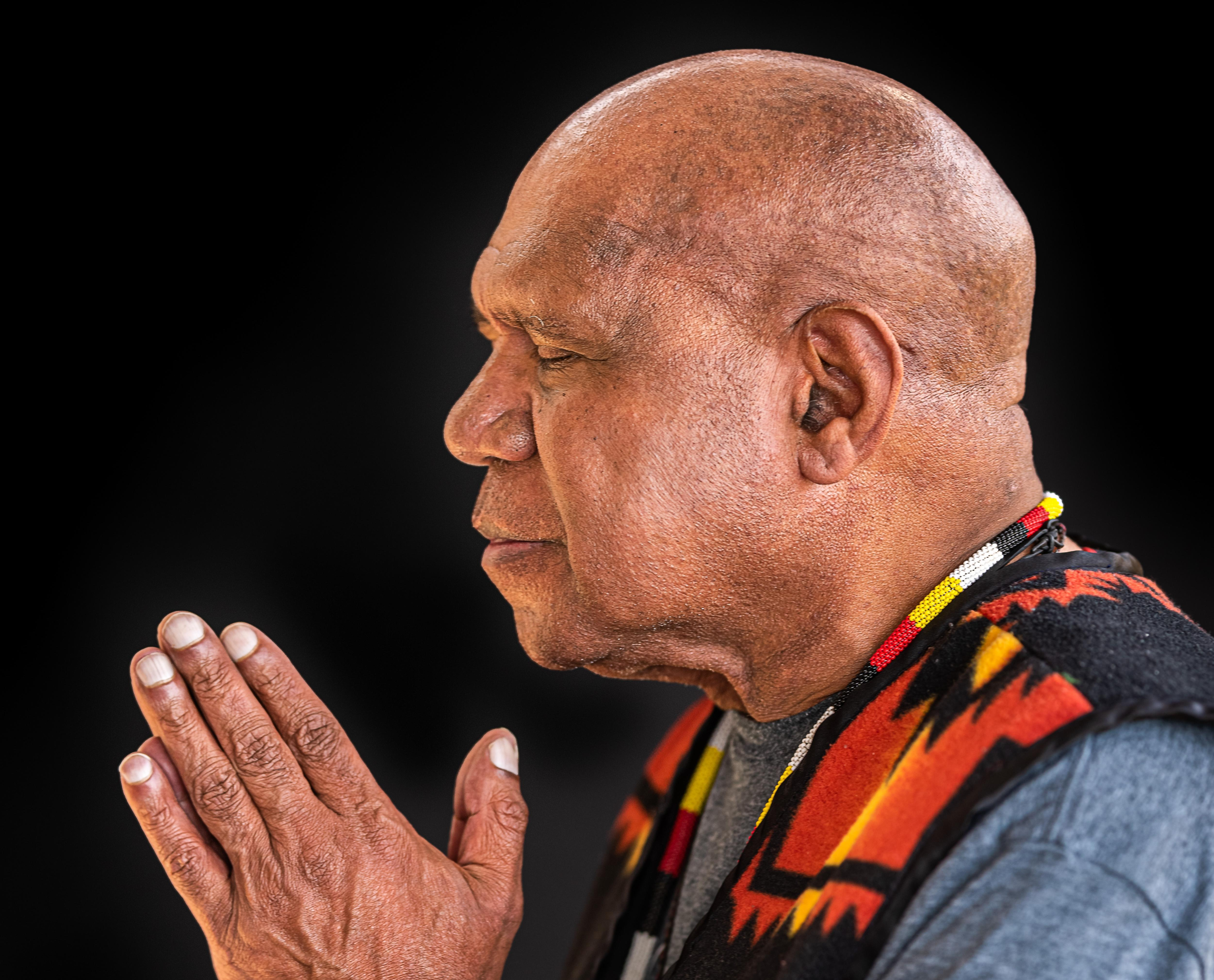 Archie Roach: 'You can reach the darkest point in our life and come back, and come good'