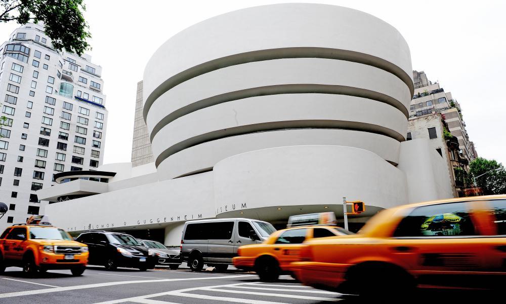 Frank Lloyd Wright's Guggenheim museum in New York.