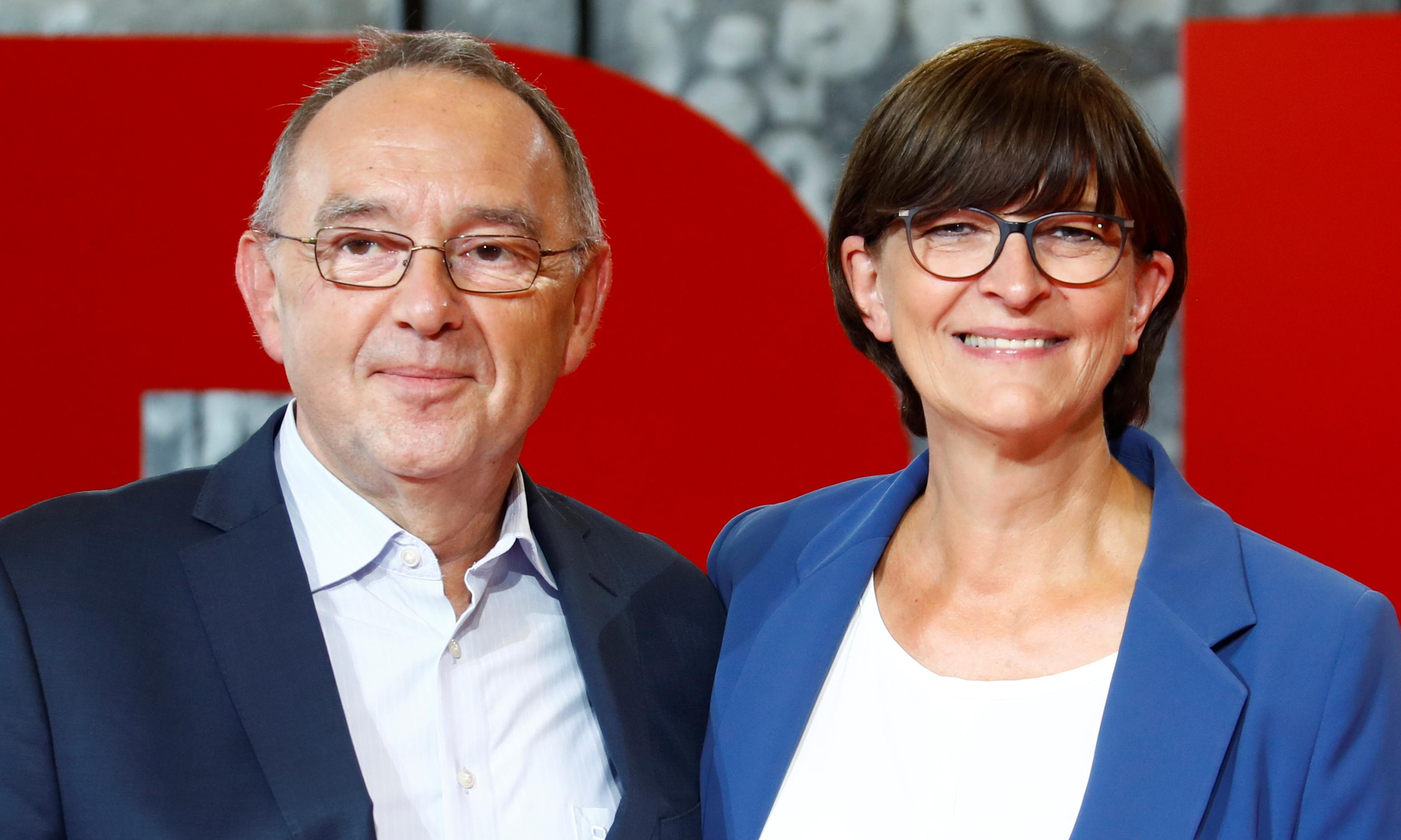 SPD duo aim to lead Germany out of 'neoliberal wilderness'