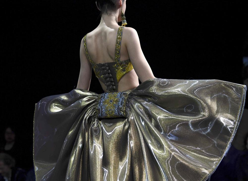 Haute Couture collection by Chinese designer Guo Pei