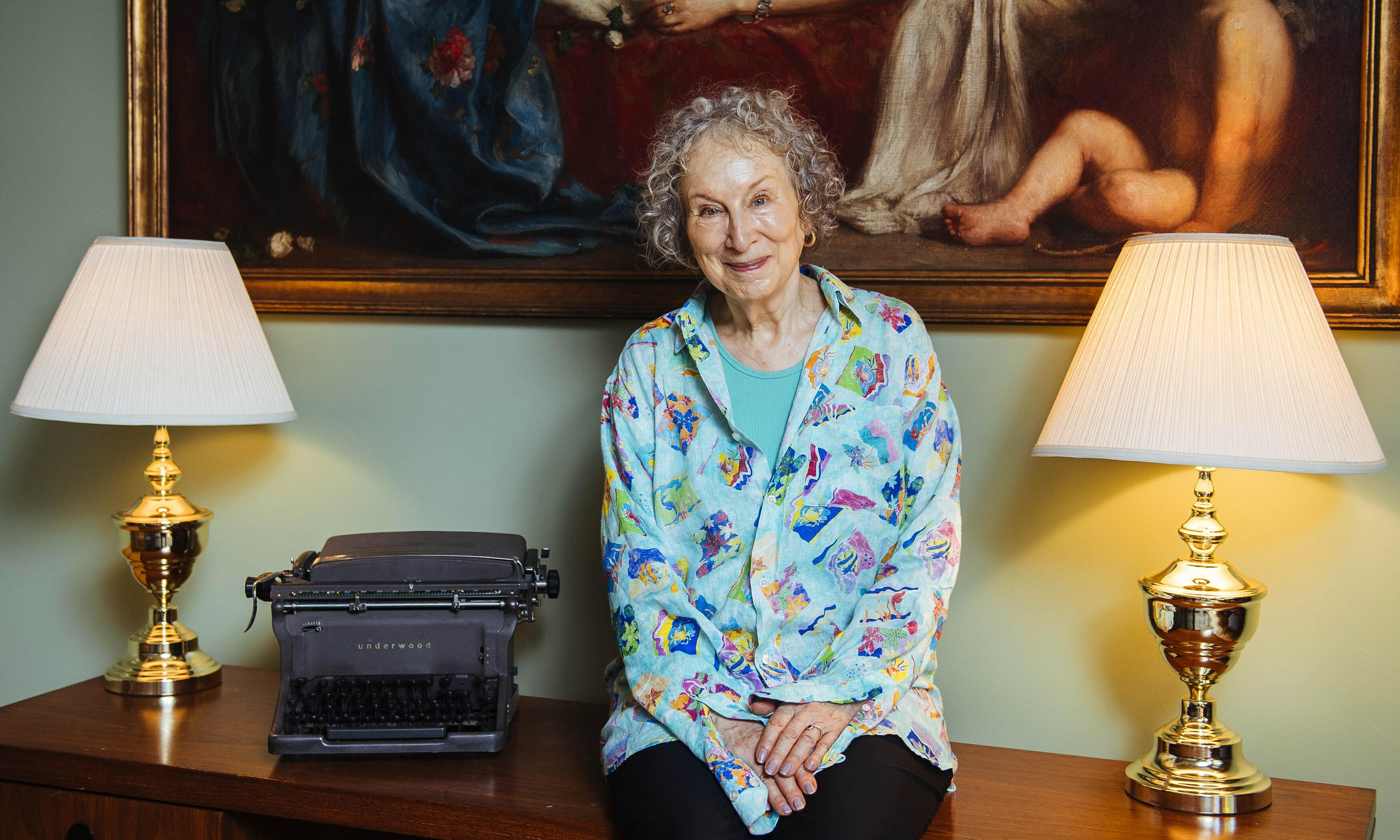 Margaret Atwood: 'For a long time we were moving away from Gilead. Then we started going back towards it'