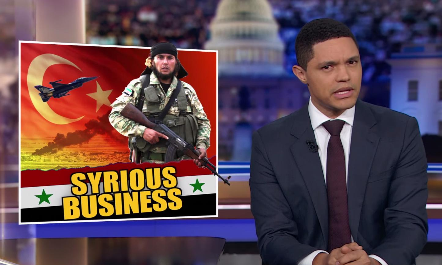Trevor Noah: Trump the 'only person who could make the Middle East more chaotic'
