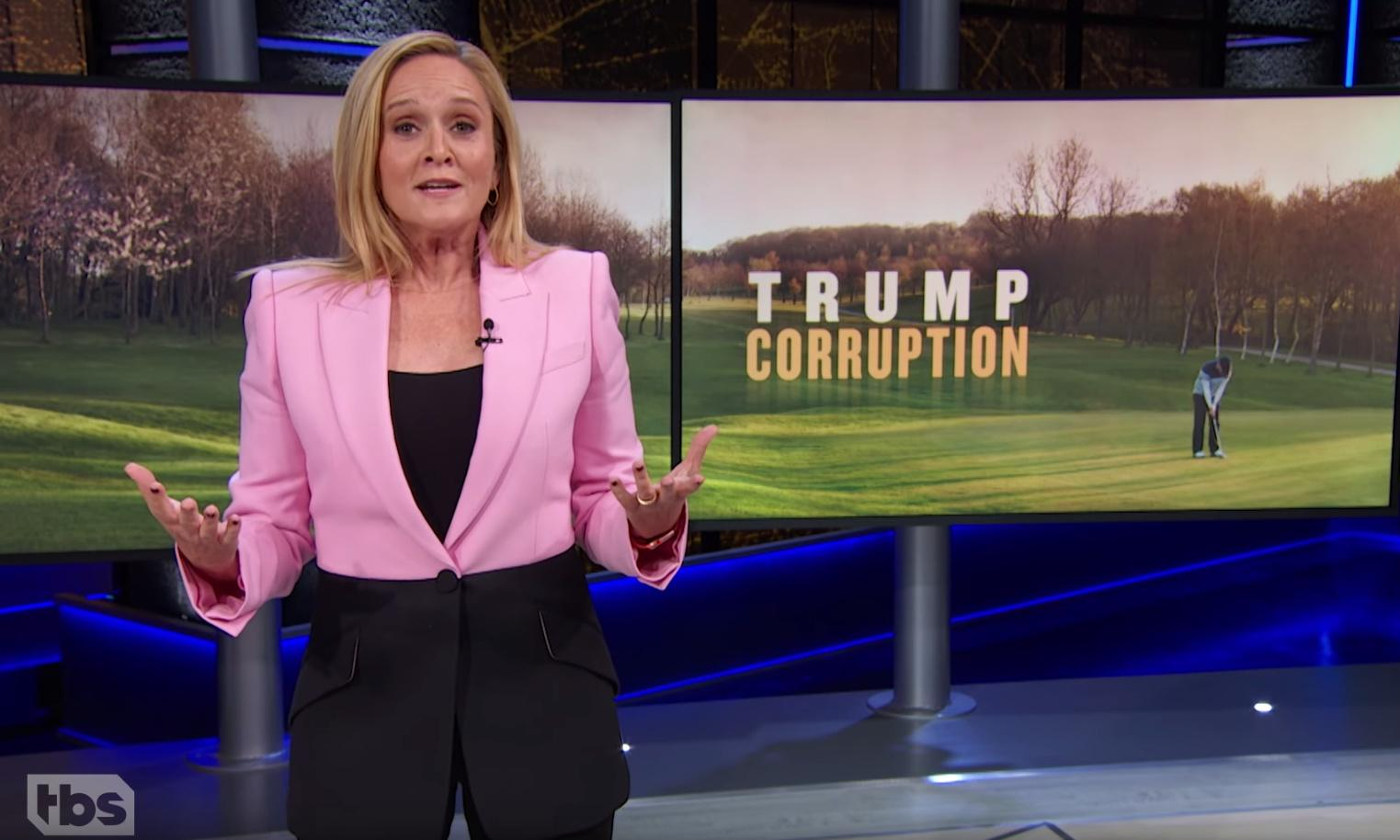 Samantha Bee: US government is a 'coupon for the president's resorts'
