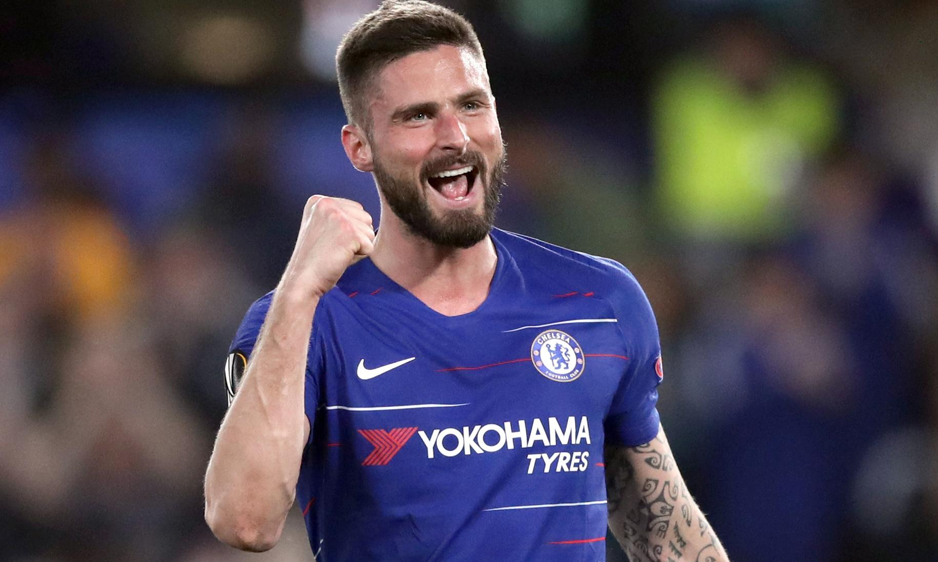 Giroud signs new contract at Chelsea before possible transfer ban for club