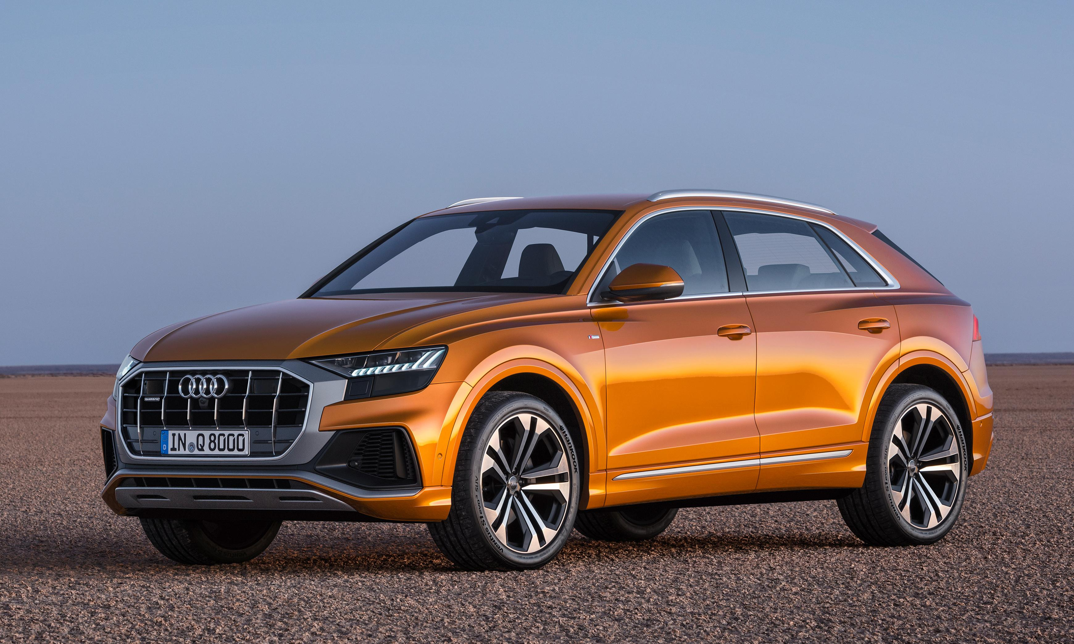 Audi Q8: 'There's nothing it will not do to make you feel more comfortable'