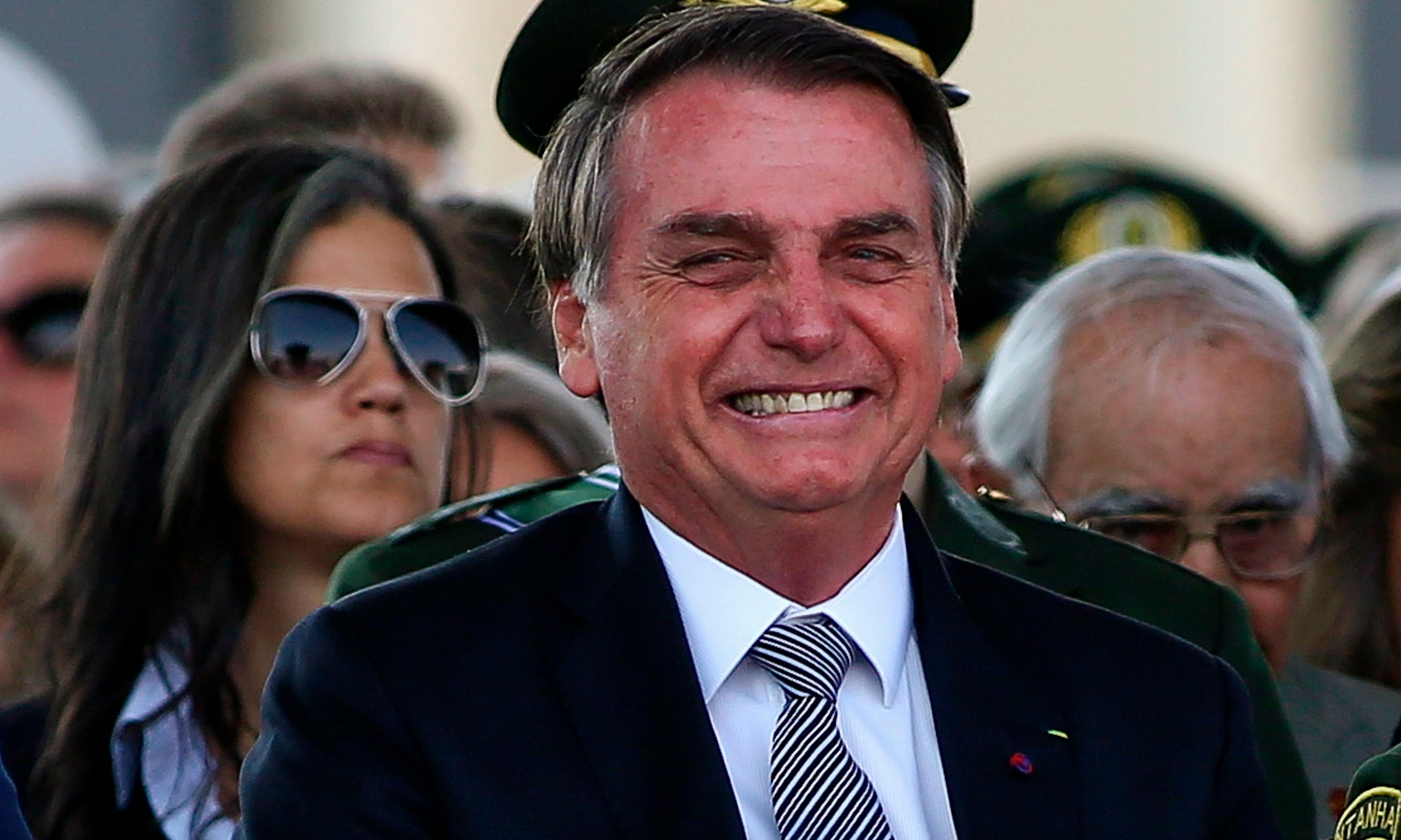 Bolsonaro enjoys comedy club outing as Amazon fires rage on