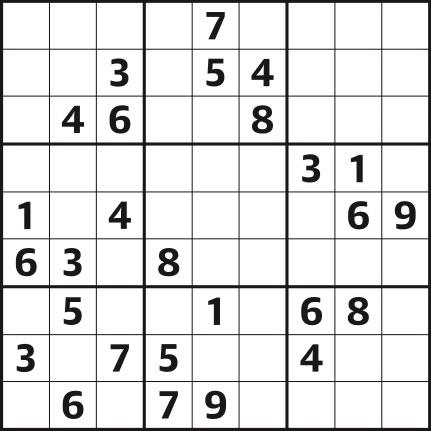Sudoku 4,512 hard