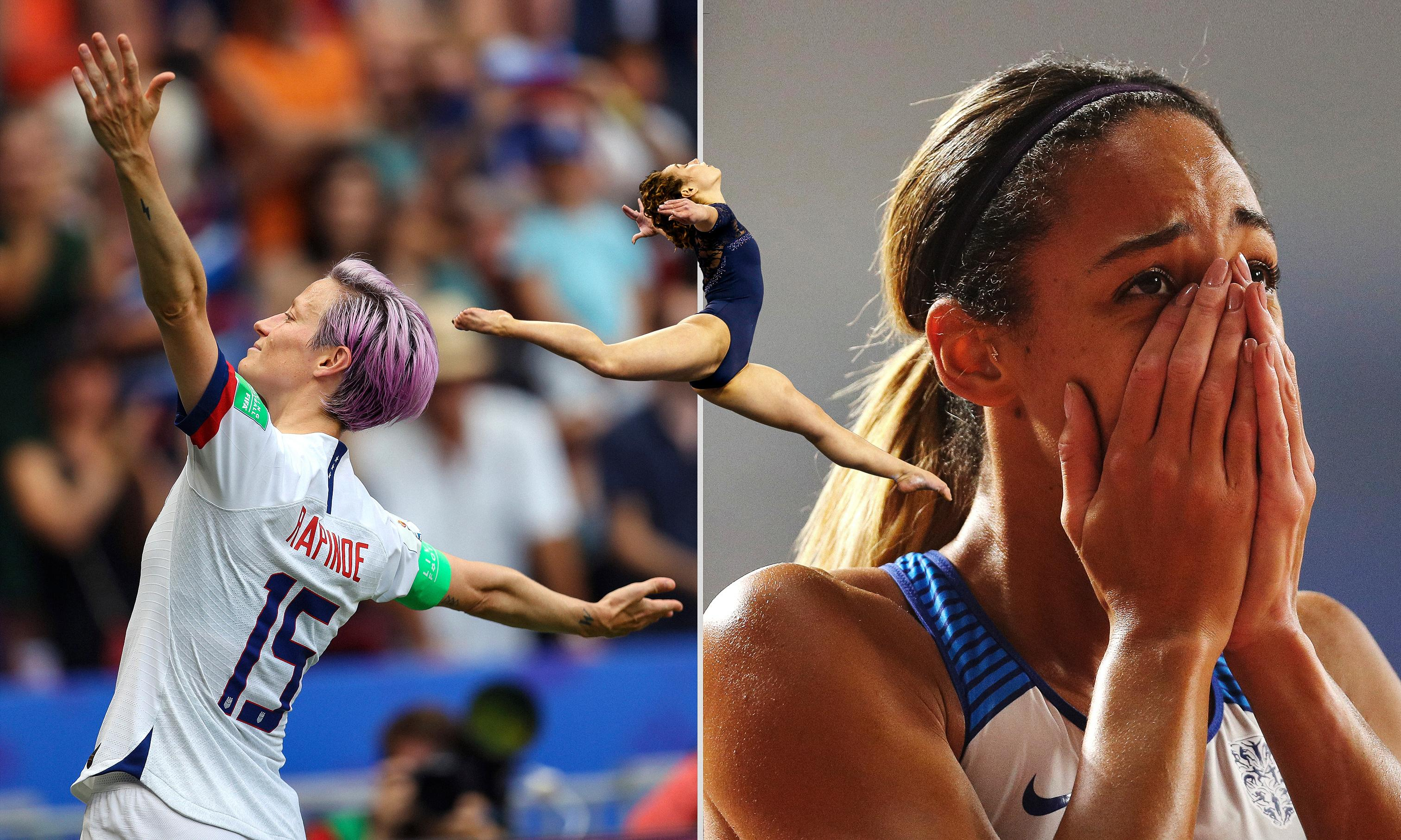 Powerful photographs perfectly illustrate rise of women's sport