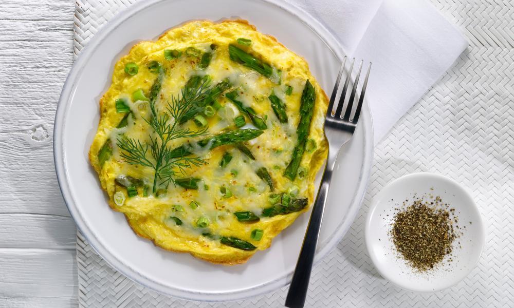 The ubiquitous omelette.