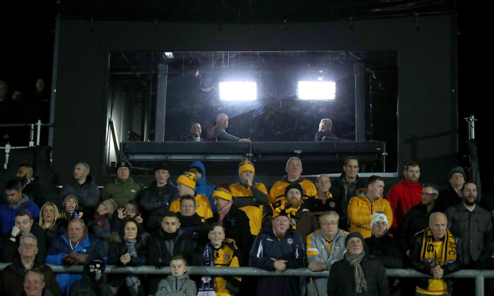 BBC pundits Gary Lineker, Ian Wright and Alan Shearer watch Newport's third-round win over Leicester back in 2019.